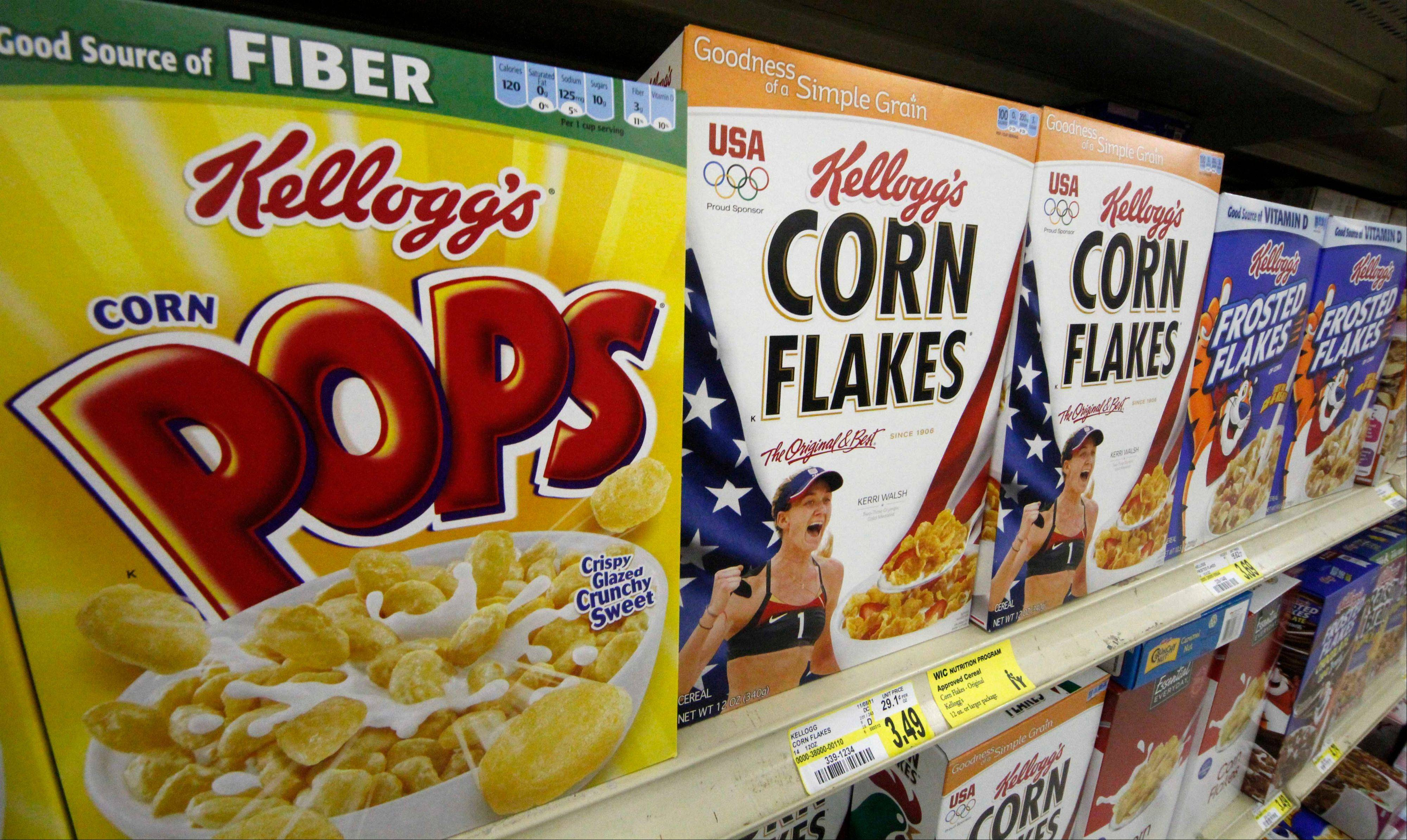 Kellogg, the maker of Frosted Flakes, Pop-Tarts and Eggo waffles, announced Monday it formed a joint venture to expand the distribution of its cereals and snacks in China as early as next year.