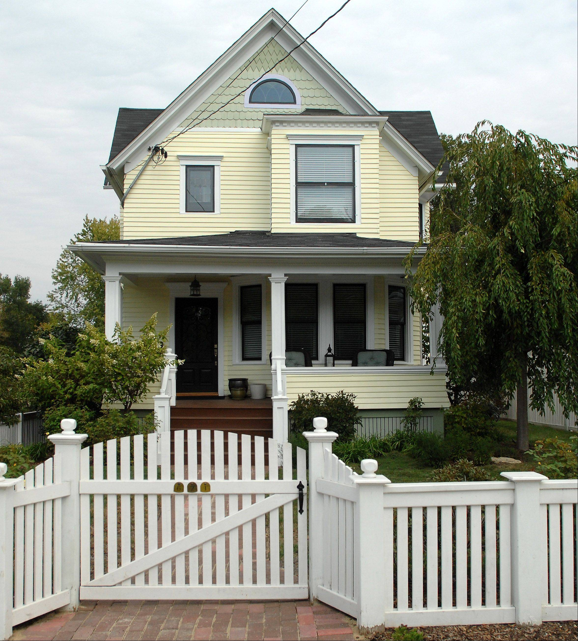 The home at 621 Main St., Batavia, is a completely renovated folk Victorian home.