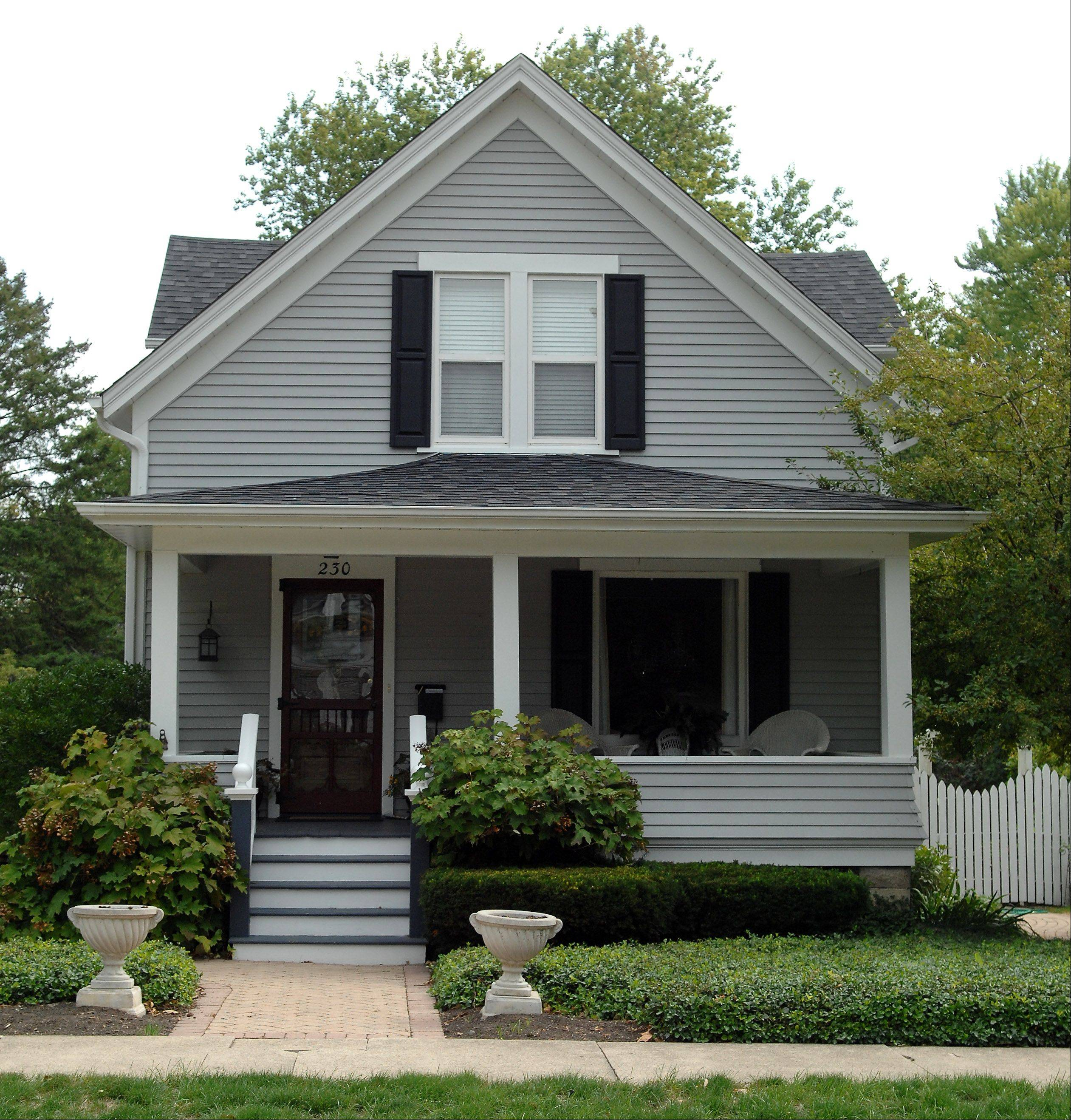 A compact Victorian at 230 N. Lincoln St. will be featured on the Batavia House Walk.
