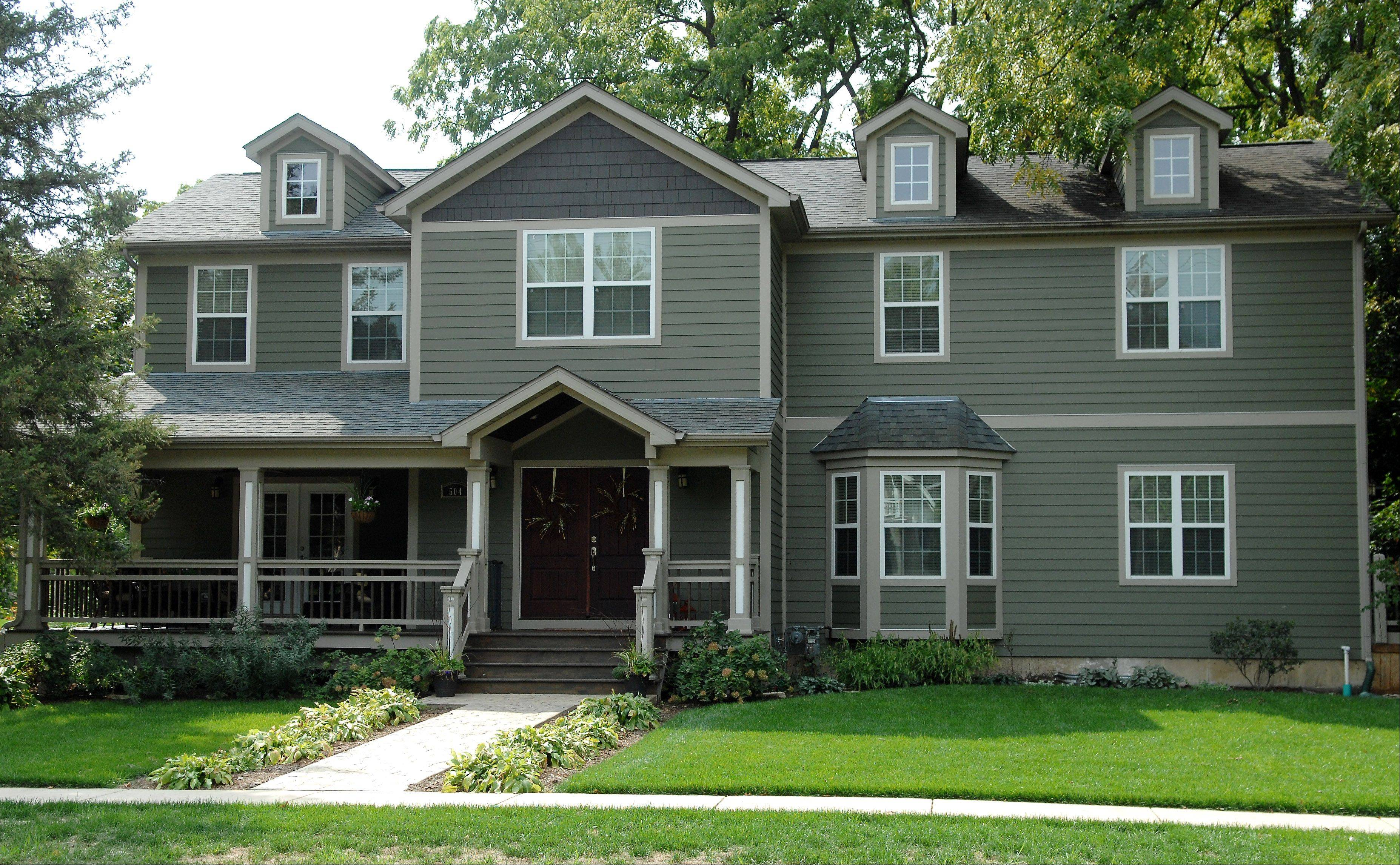 The home at 504 Main St., Batavia, is new construction, built in the Craftsman style.
