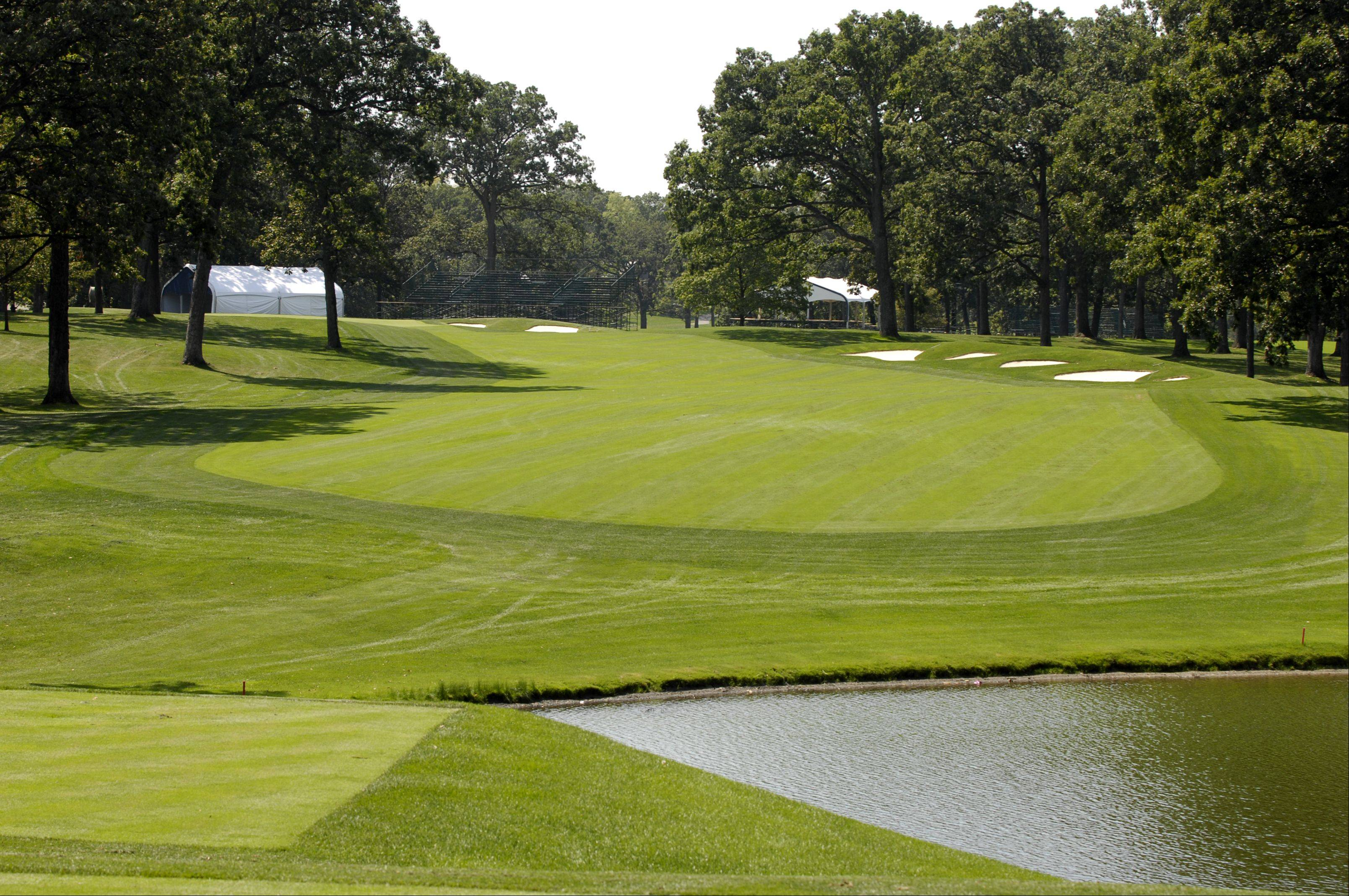 Medinah Country Club course No. 3 has been improved in preparation for the Ryder Cup.