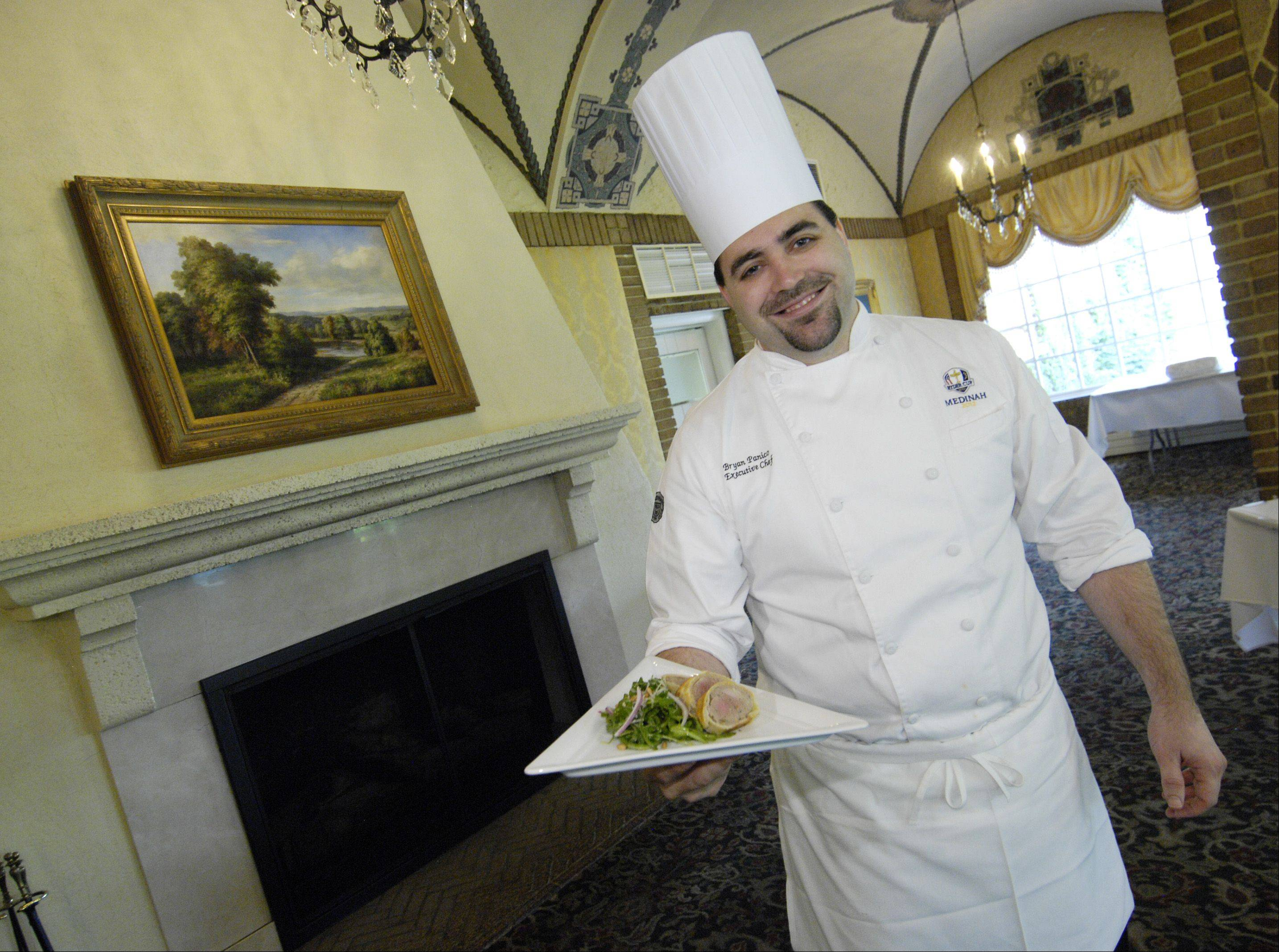 Medinah chef eager to feed golf's elite during Ryder Cup week