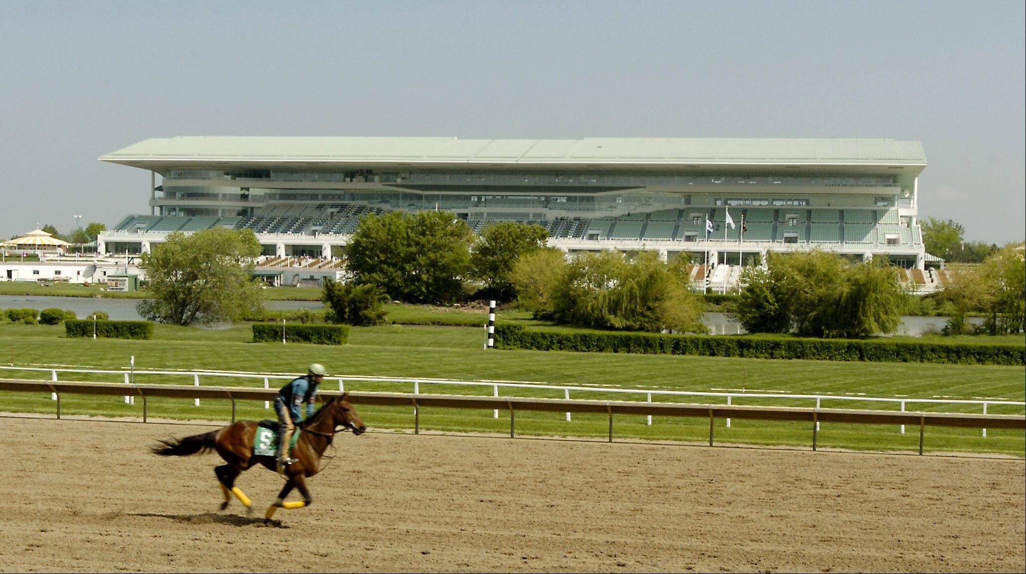 Arlington Park is scheduled to have 89 days of live racing next year beginning May 1.