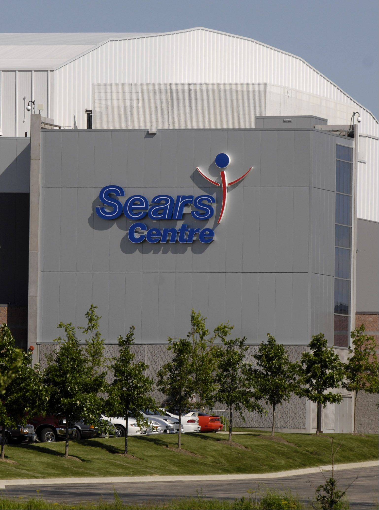 The Sears Centre Arena.