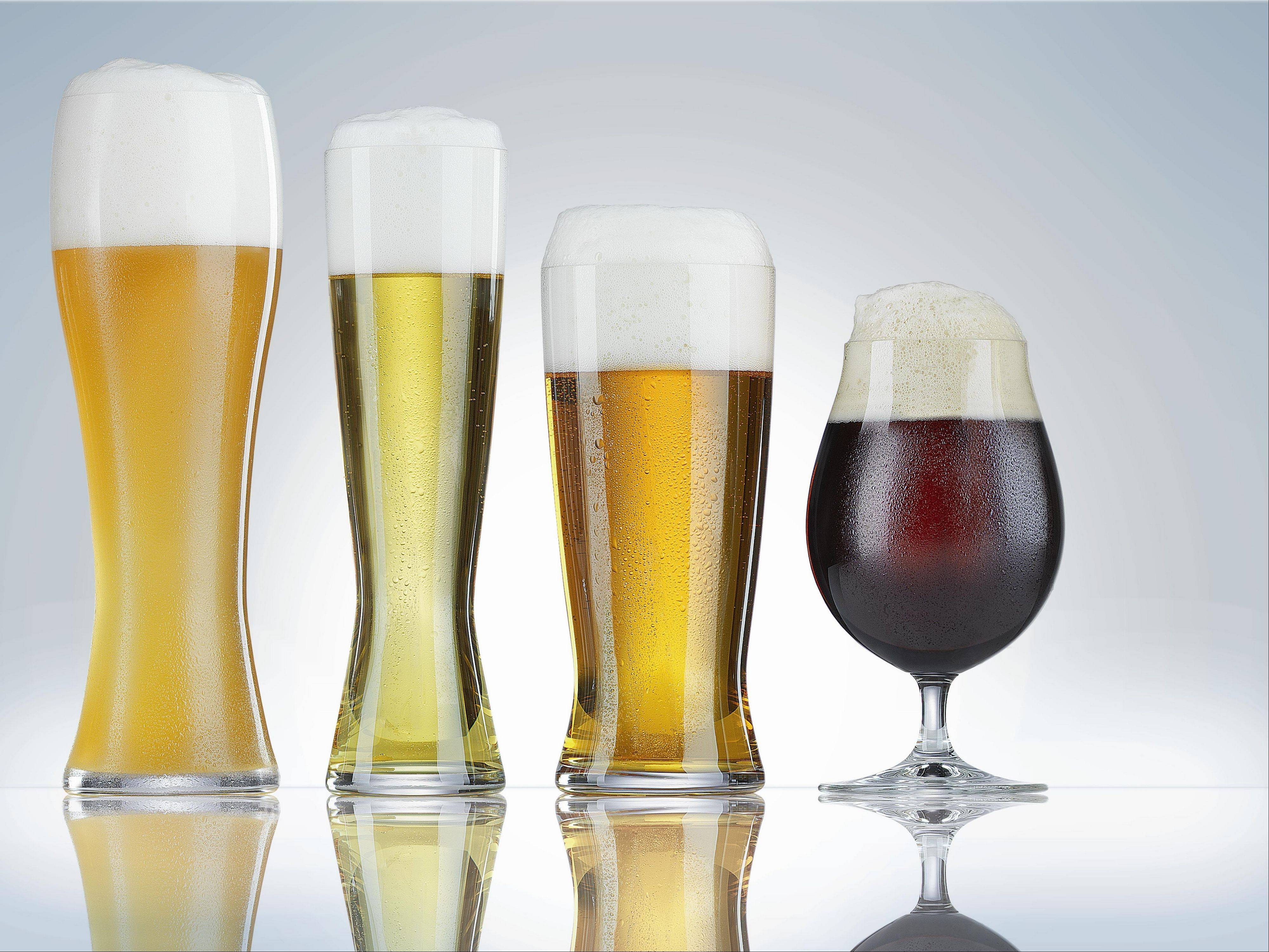 The right glass brings out the best in beer.