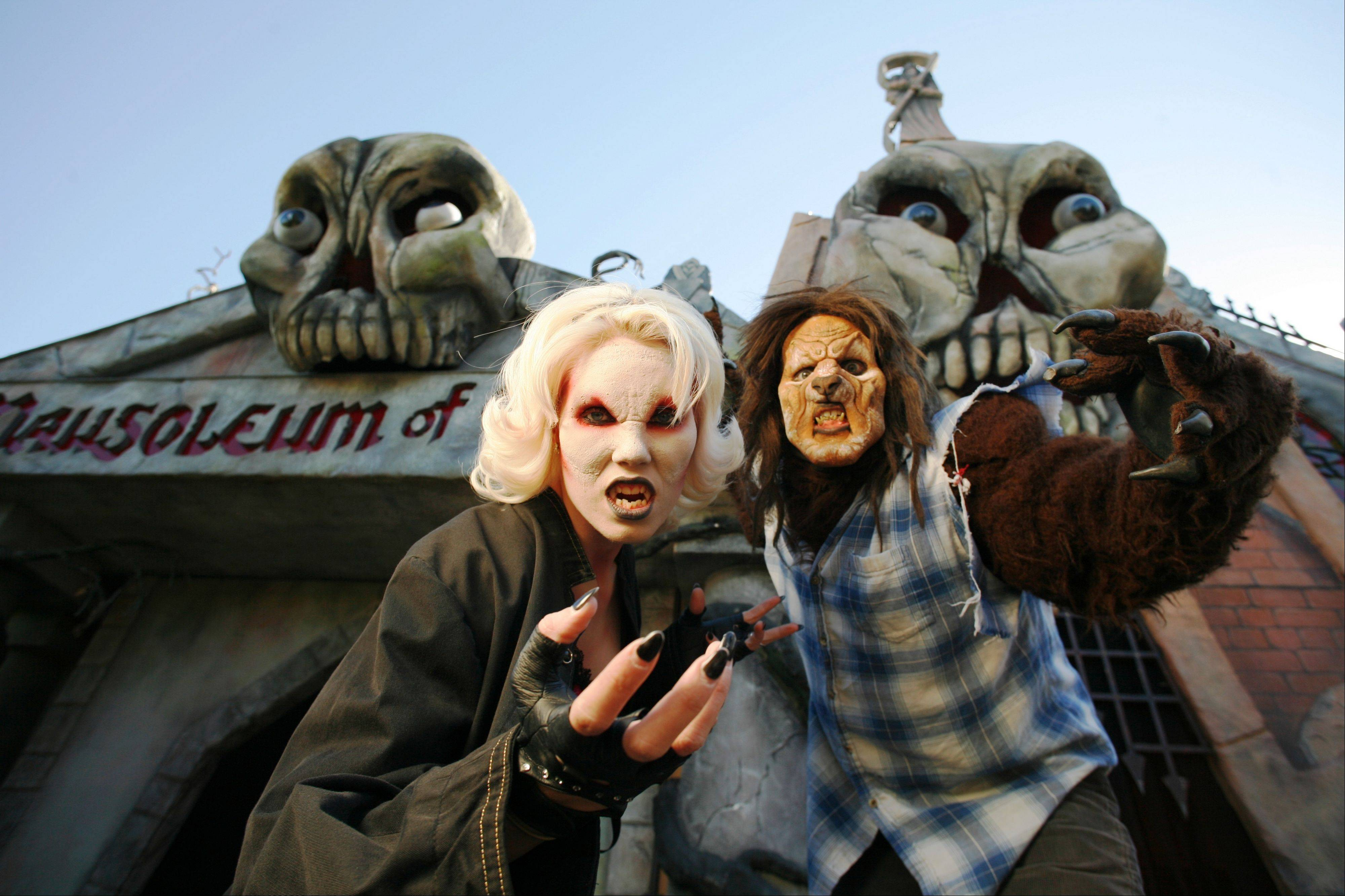 Those who dare can tour the Mausoleum of Terror and mingle with some creepy characters as part of Frightfest at Six Flags Great America in Gurnee.