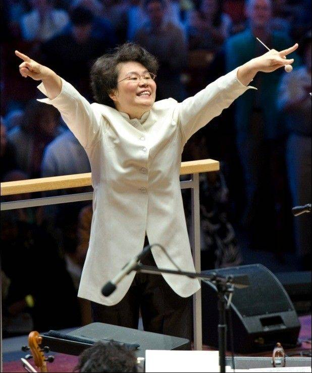 "Mei-Ann Chen, music director of the Chicago Sinfonietta, leads a concert titled ""Performance. Art."" in Naperville and Chicago."