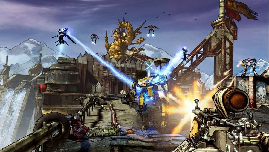 Shoot, loot and laugh in 'Borderlands 2'