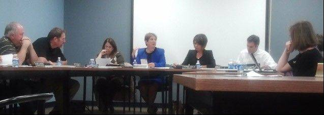 The Mundelein High School board approved a budget for the new fiscal year Tuesday night.