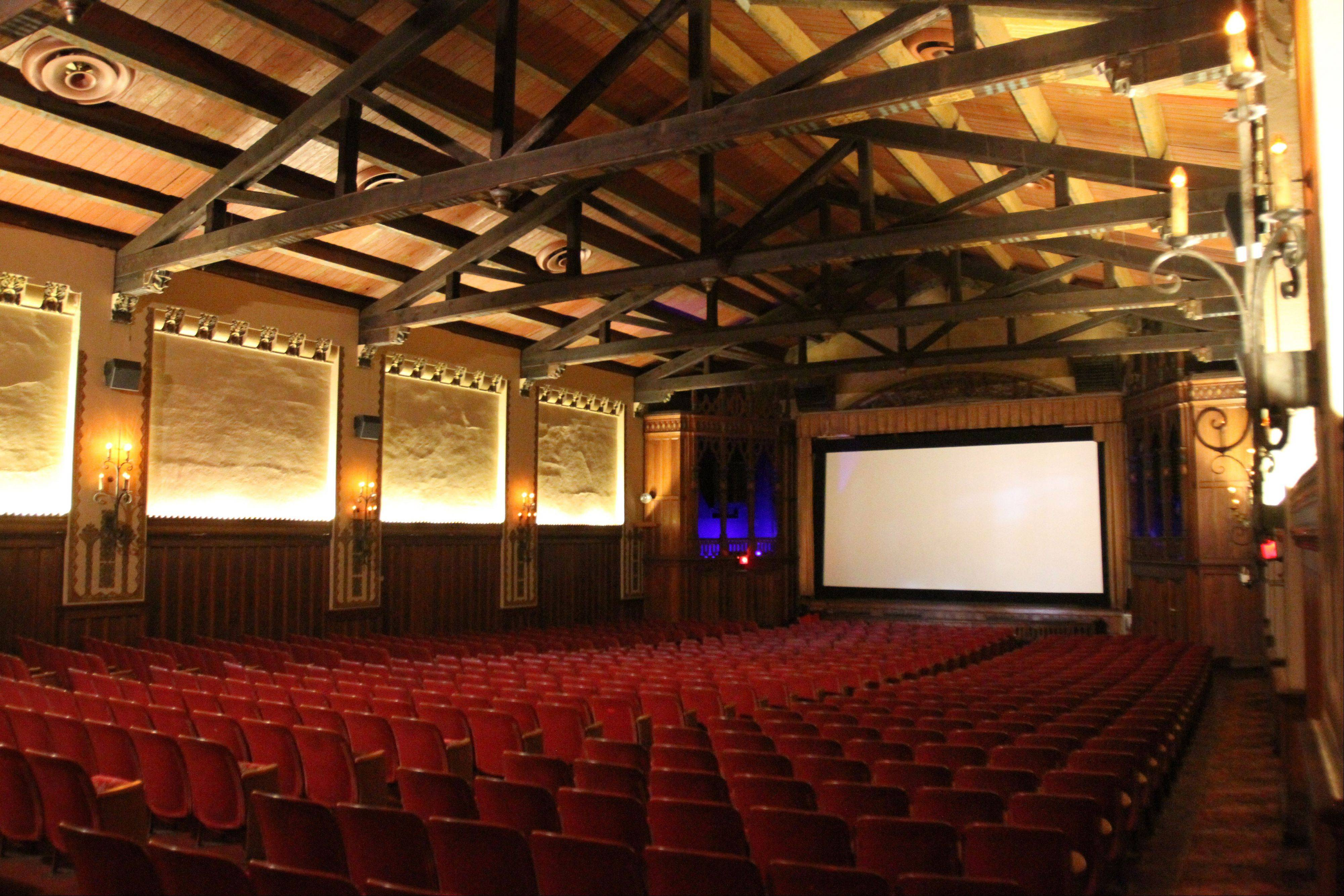 Though sitting in an auditorium designed in the 1920s, Catlow audiences will soon be watching movies projected digitally in true 21st-century style.