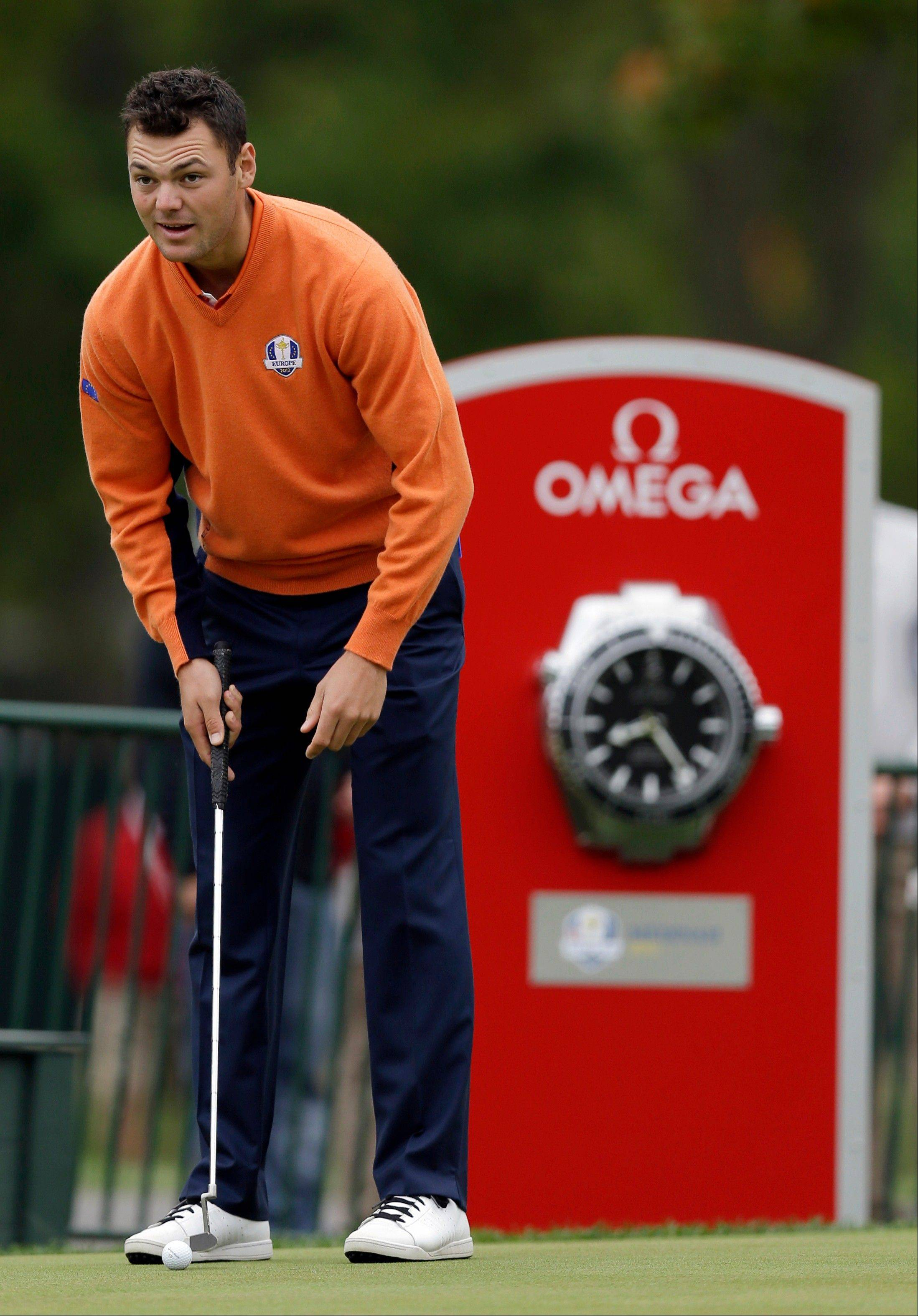 Ticked off: Swiss watch companies vie at Ryder Cup