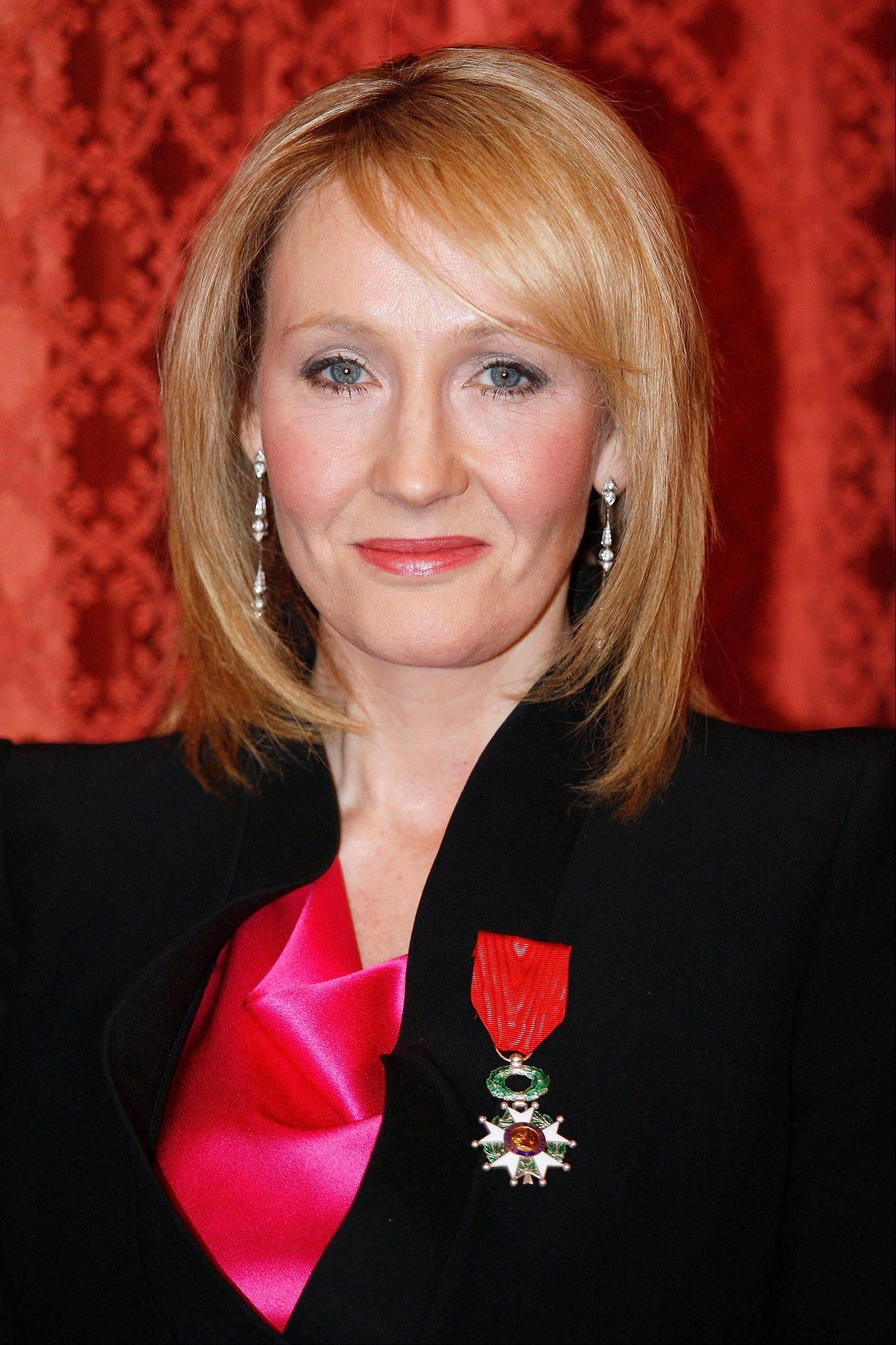 British writer J.K. Rowling says her next book will be for young people.