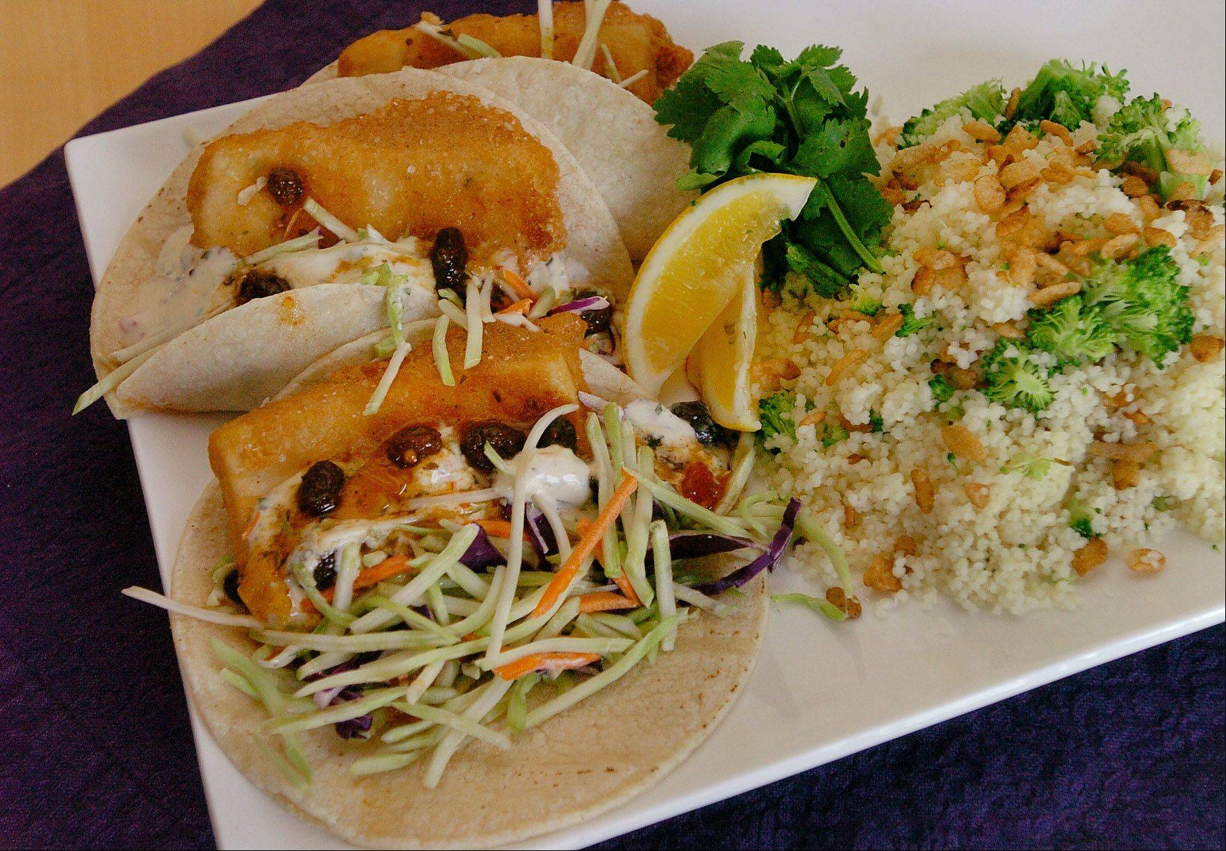 Louann Zundel's Baja-style tofu tacos earned her a spot in Round 2 of the Cook of the Week Challenge.