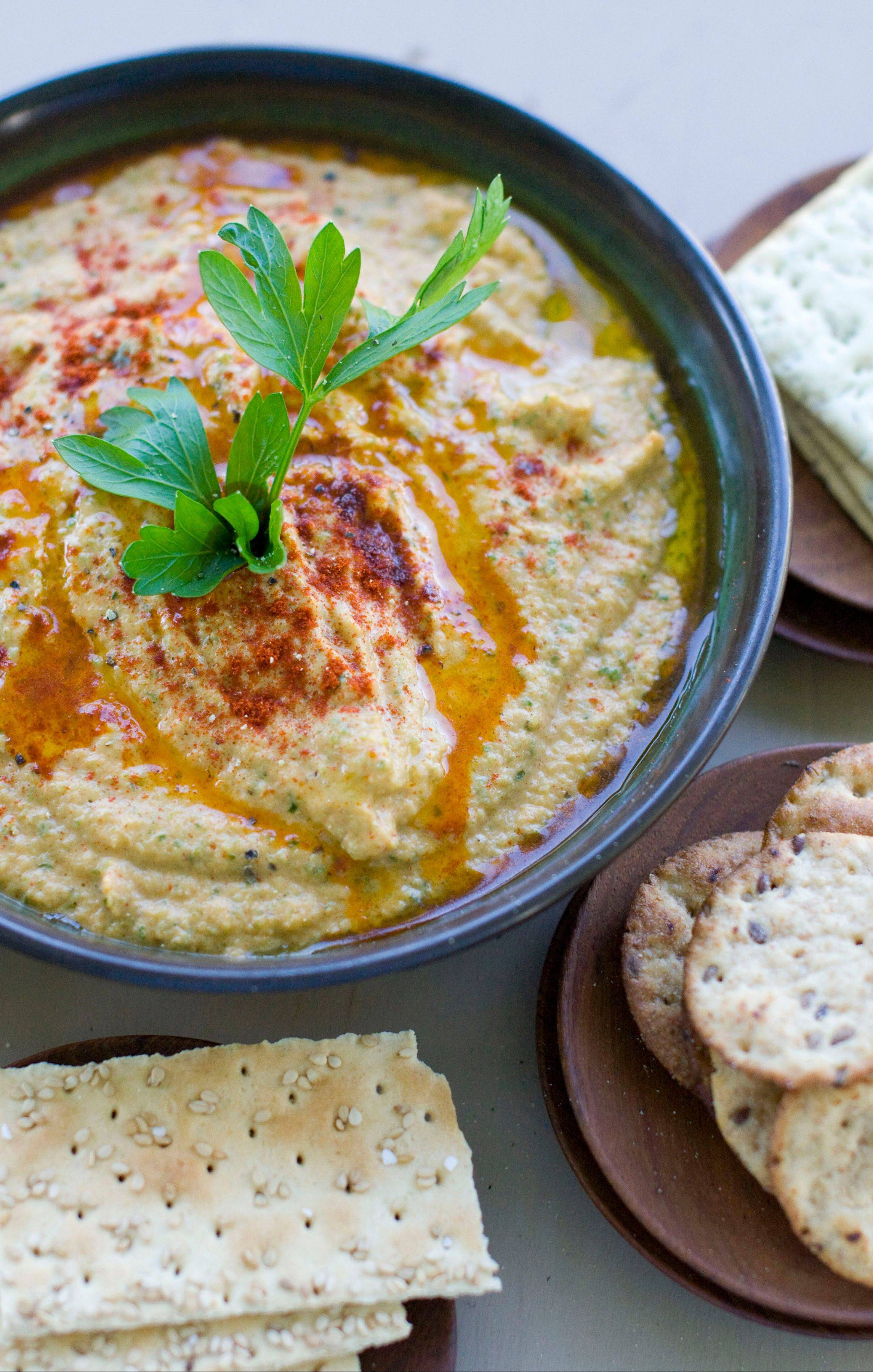 Associated PRessGrilled Zucchini Hummus is a delicious new way to use up the season's bounty.