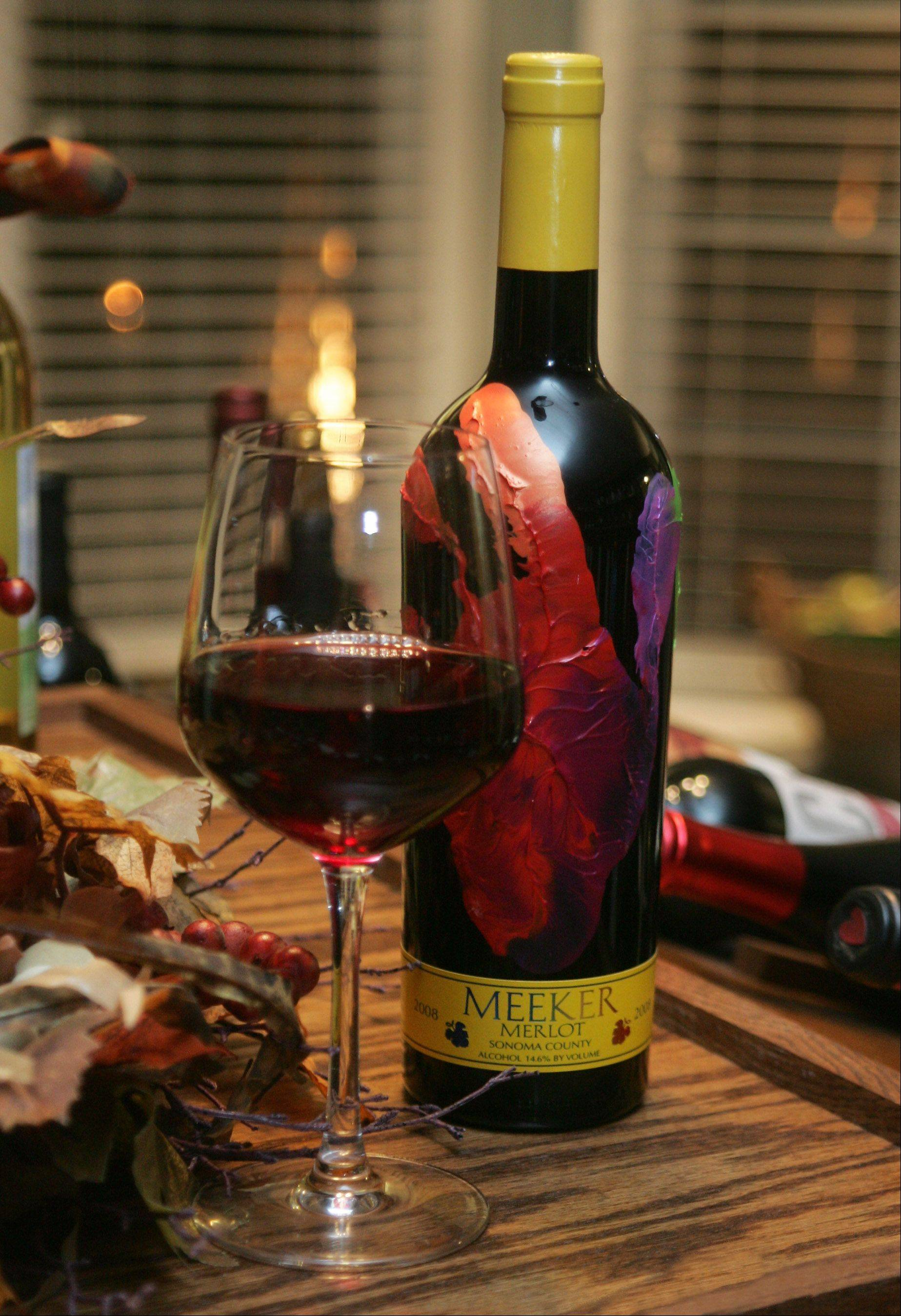 Meeker Merlot is just one of many options at WineSplash in Long Grove.