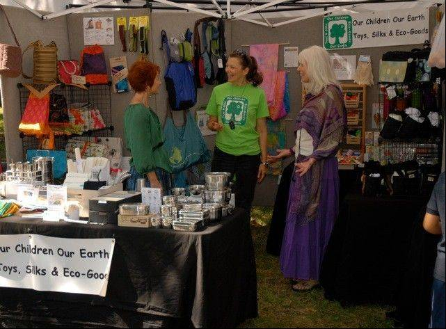 Dianne Peterson of Our Children, Our Earth will offer a variety of environmentally sound products and toys at the Fox Valley Holistic Health Celebration.