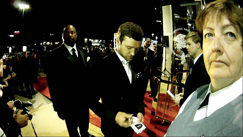 The Akoo Theatre in Rosemont hosted the 39th Ryder Cup Gala. Here, Justin Timberlake signs an autograph.