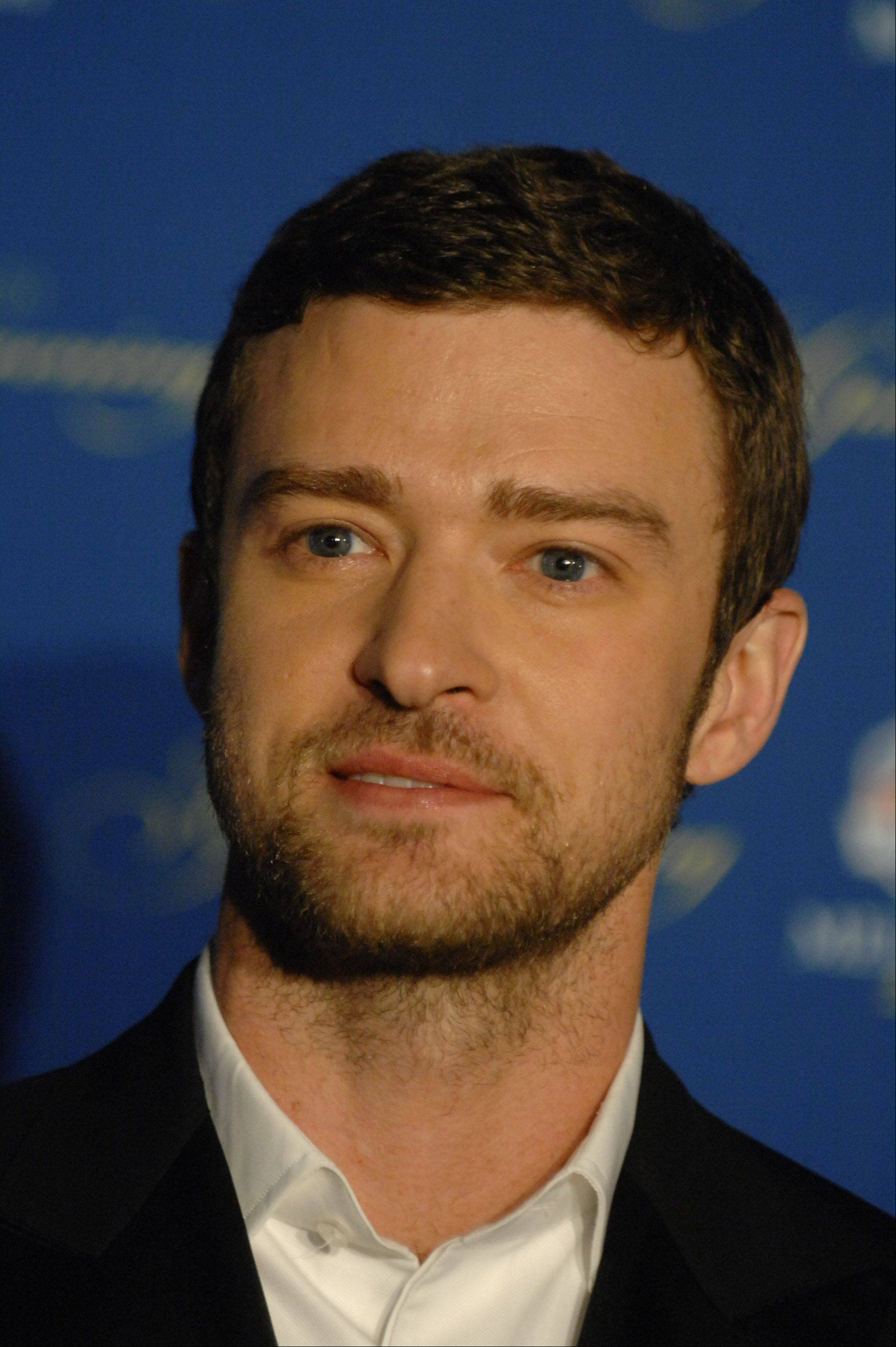 Justin Timberlake walks the 39th Ryder Cup Gala red carpet at the Akoo Theatre in Rosemont Wednesday.