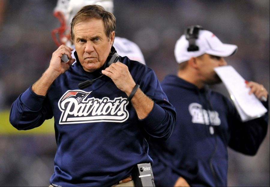 Image result for Bill Belichick On Contact With Replacement Official: