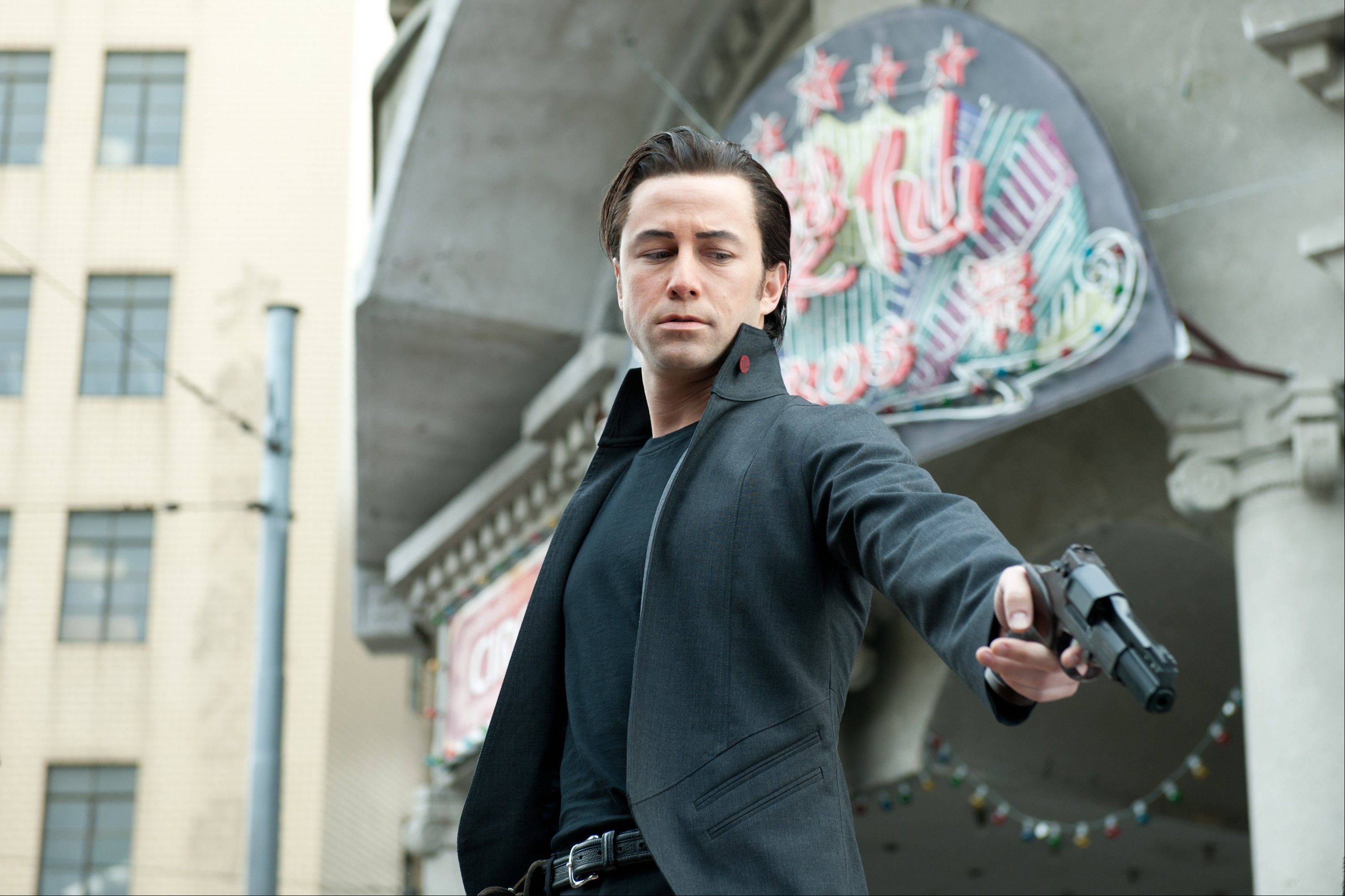 "This film image released by Sony Pictures shows Joseph Gordon-Levitt in a scene from the action thriller ""Looper."""