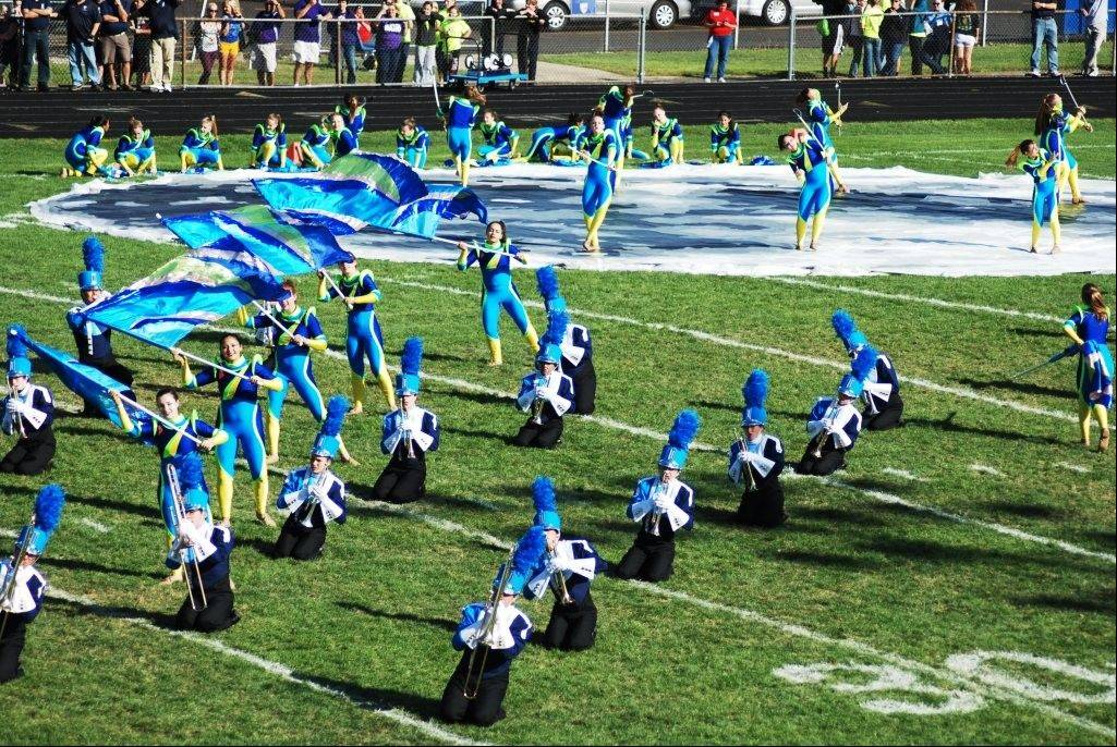 "The Prospect High School Marching Knights perform ""To the Moon and Back,"" featuring the jazz standard, ""How High the Moon."""