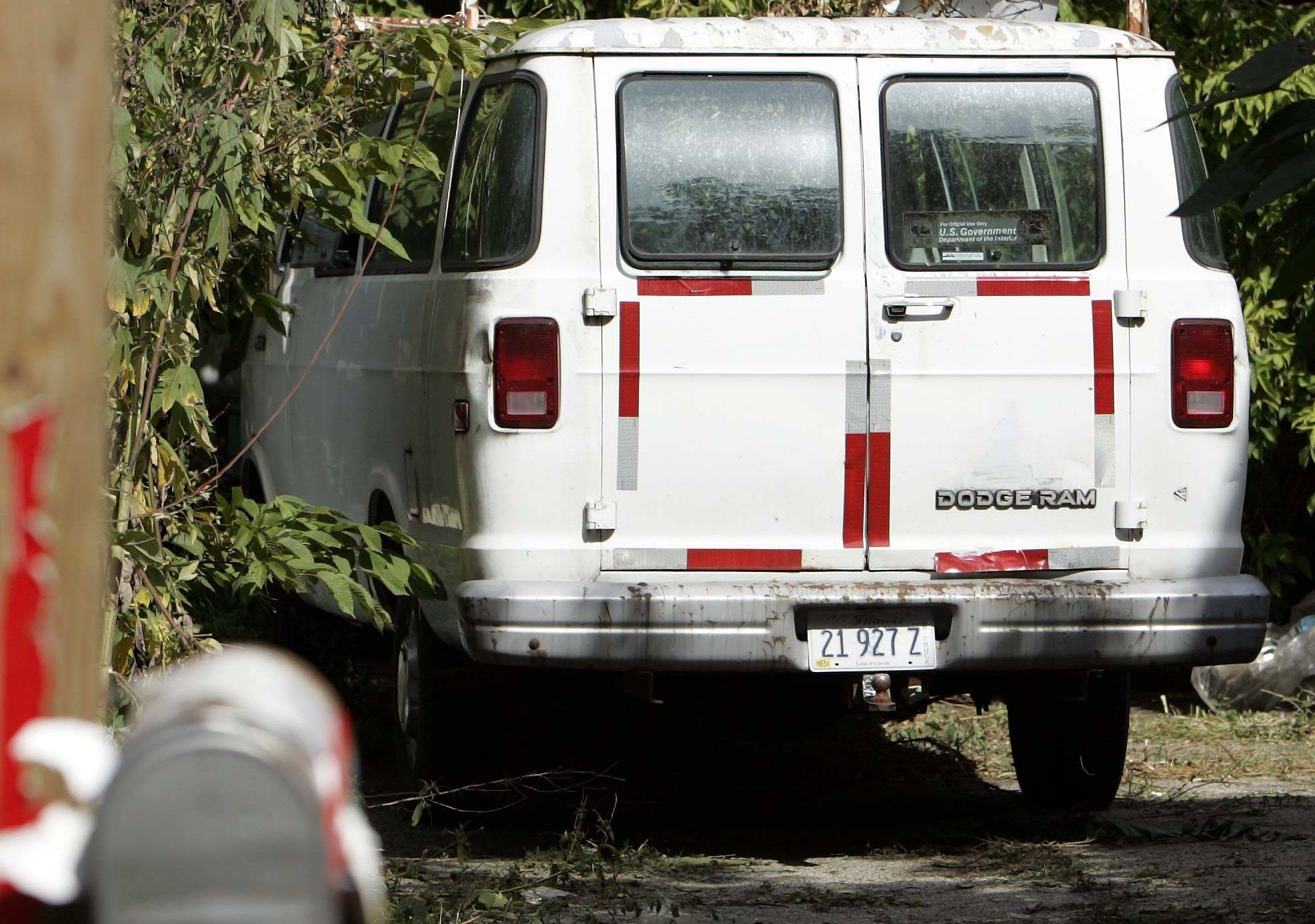 Police found 43 dead animals -- mostly cats -- in a van Wednesday on the 200 block of Villa Street in Elgin. William C. Tinkler told police during an animal cruelty investigation that he put the animals in the van because he wanted to preserve them.