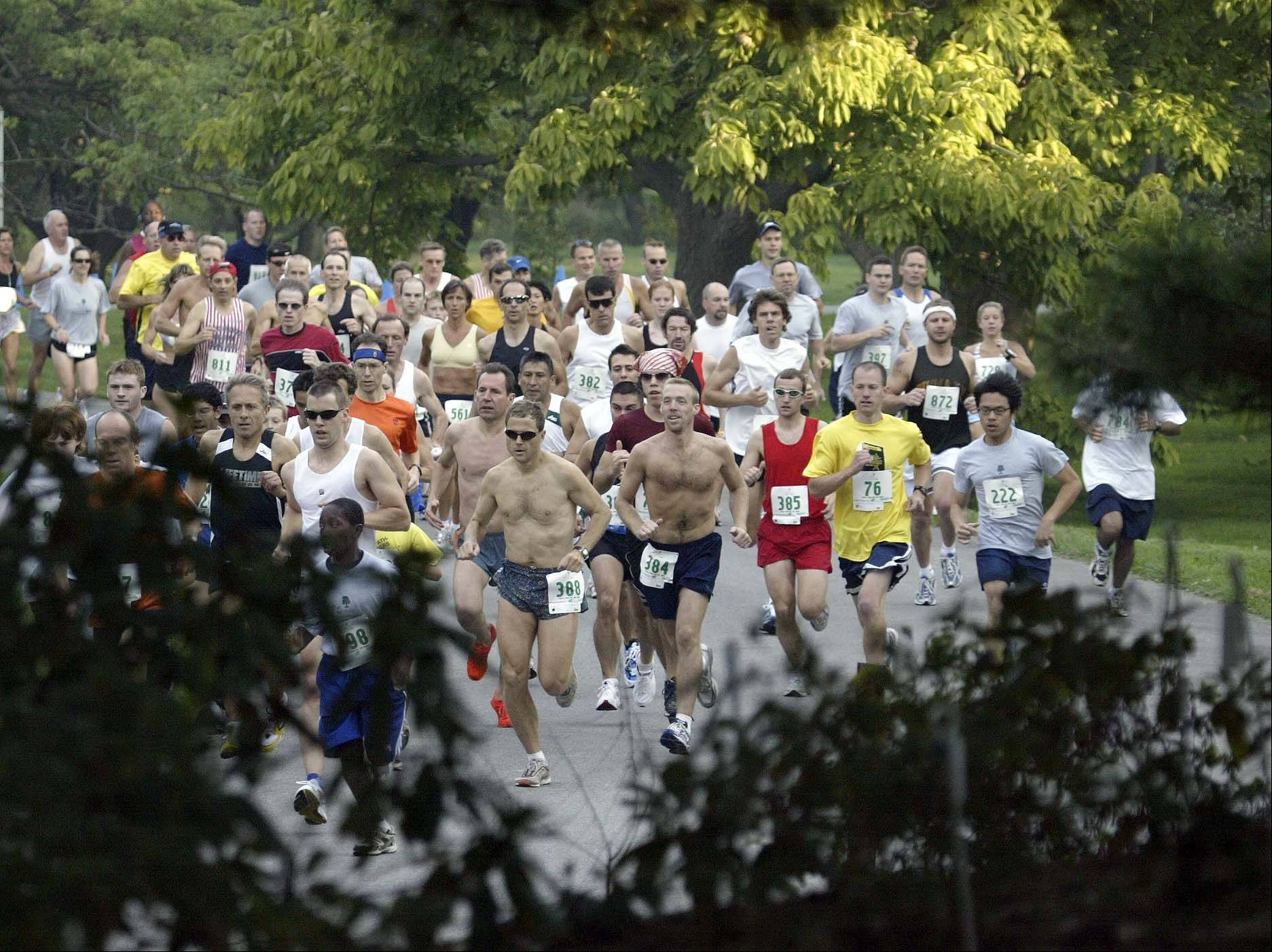 More than 2,000 people are expected to participate in the arboretum's 5K run and walk on Sunday, Sept. 30.