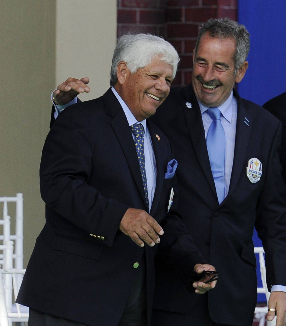 Fan favorite and golf legend Lee Trevino received a warm welcome at the opening ceremonies.