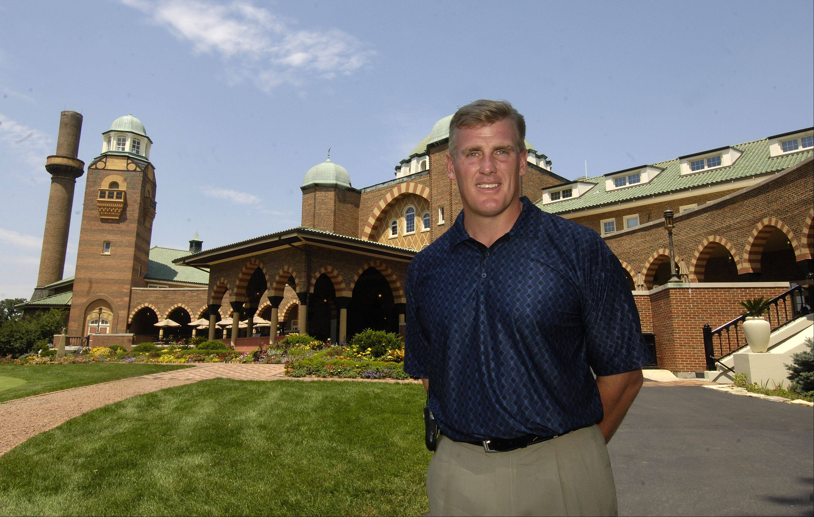 Medinah's Director of Golf, Mike Scully, likes how the course is set up for the Ryder Cup, with some key changes since it hosted its last major event.