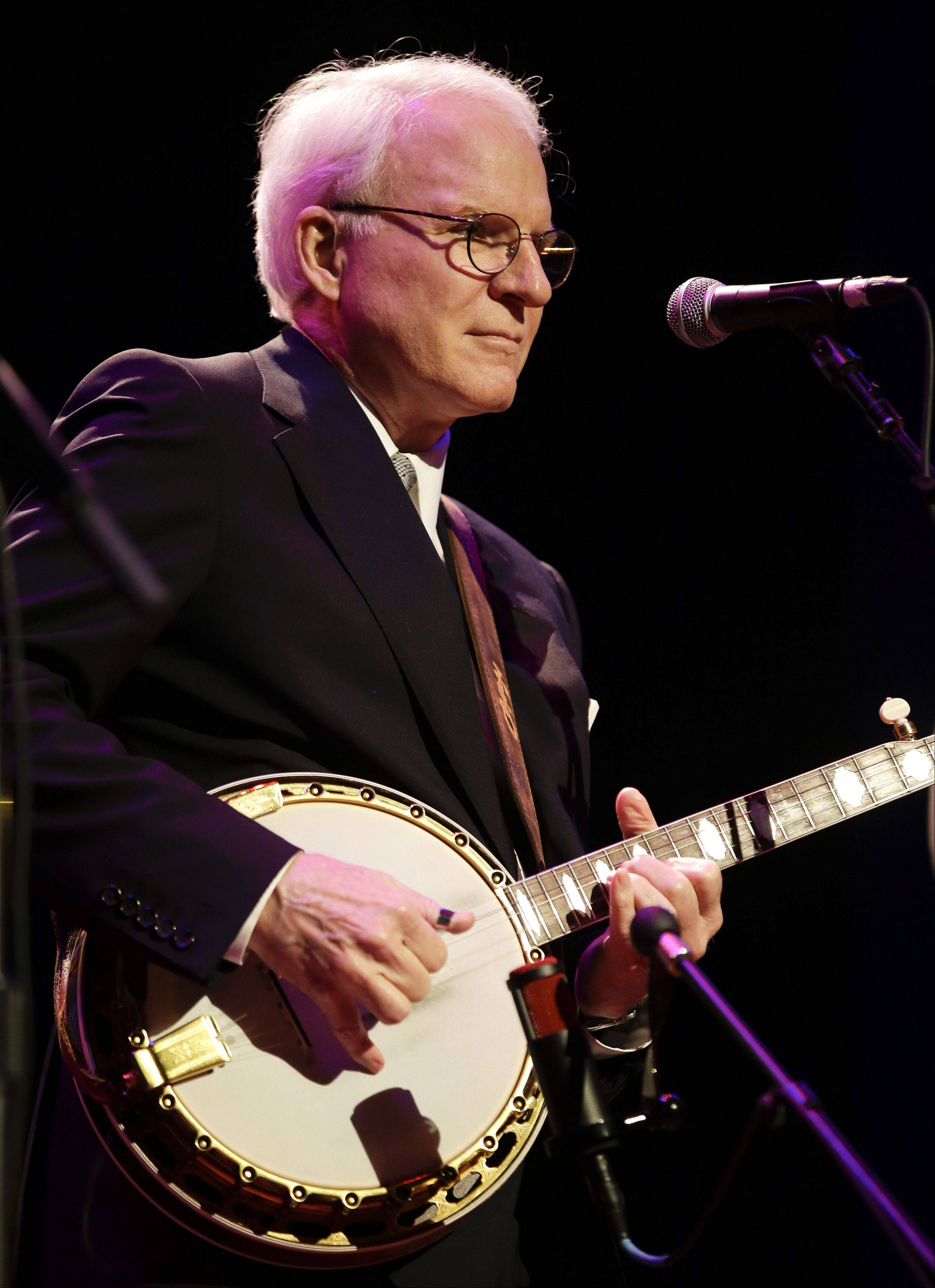 Steve Martin and the Steep Canyon Rangers perform at the International Bluegrass Music Association Awards show Thursday in Nashville.