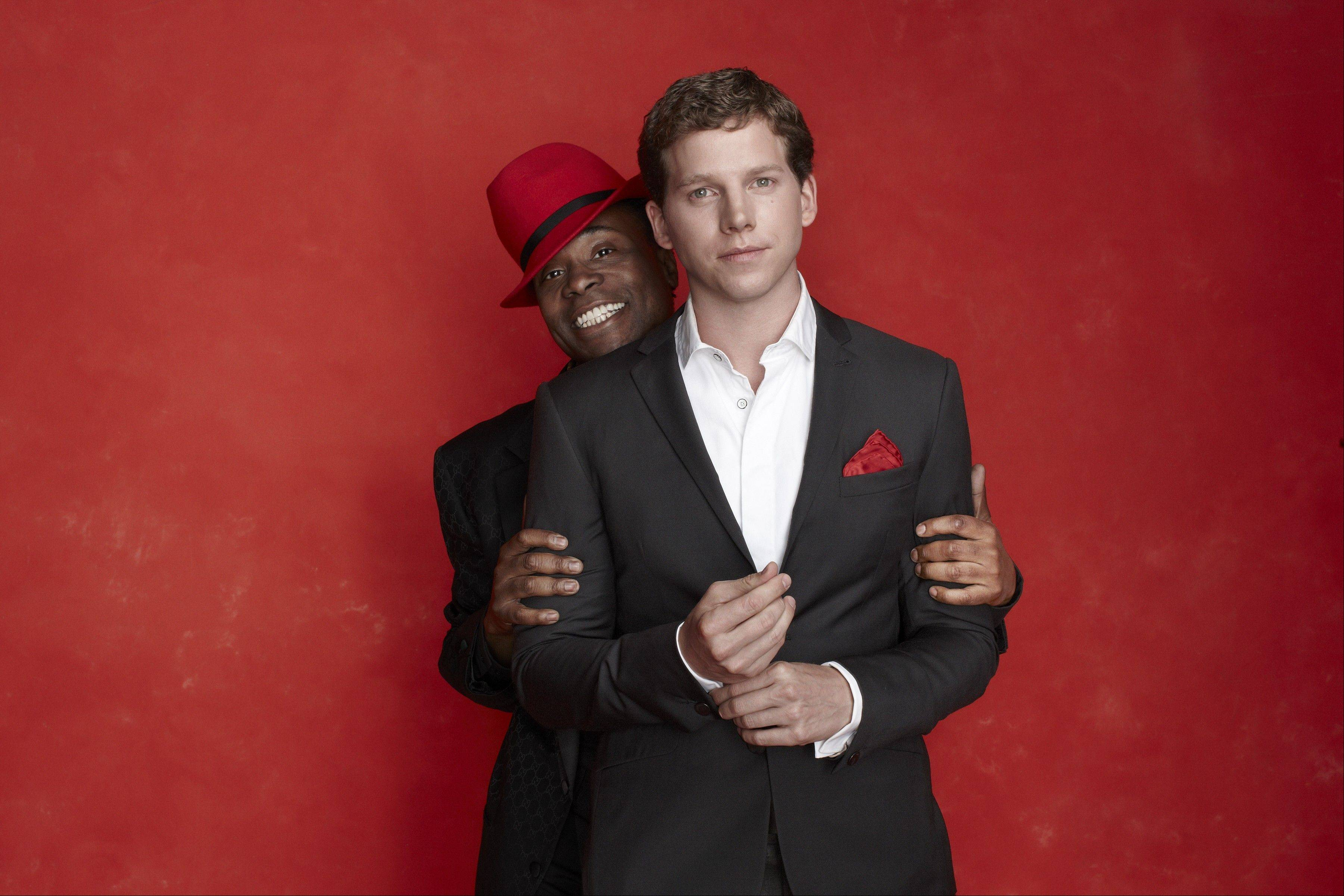"The leading actors of the pre-Broadway world premiere tryout of the new musical ""Kinky Boots"" include Billy Porter, left, and Stark Sands."