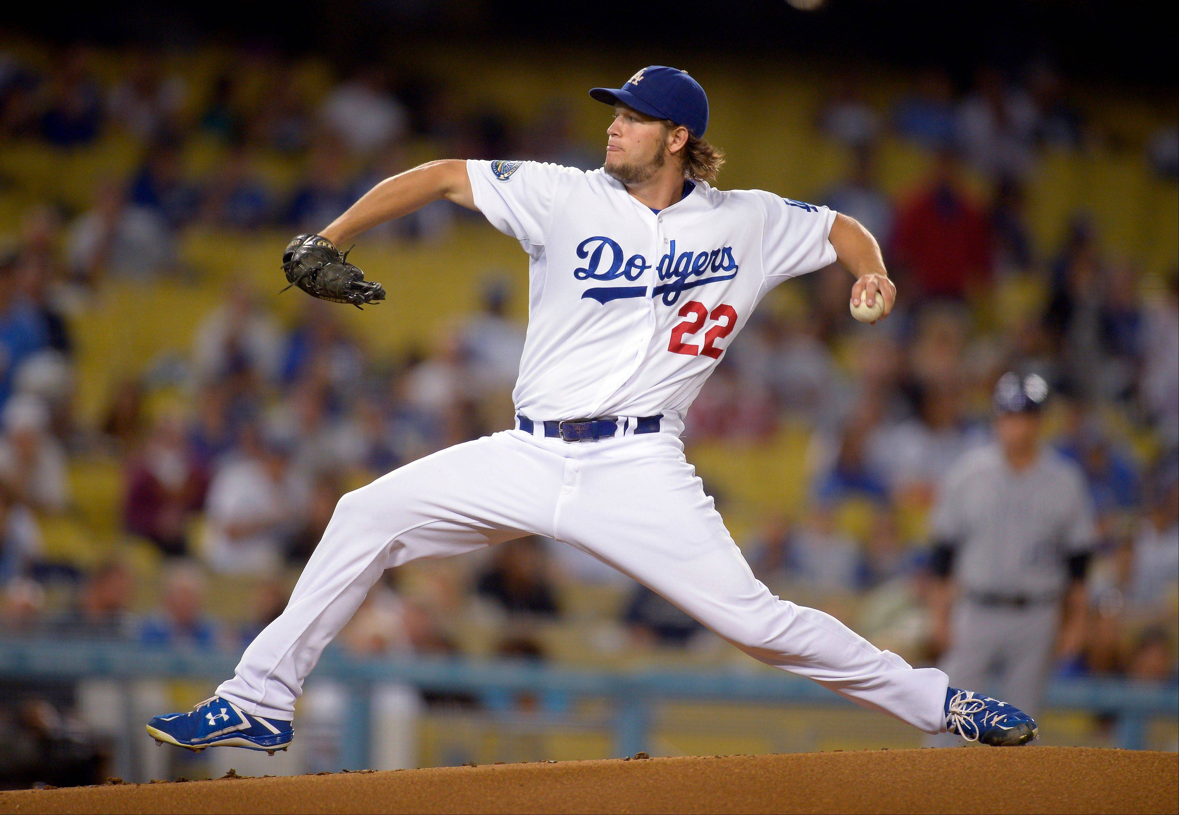 Los Angeles Dodgers starting pitcher Clayton Kershaw fanned at least 10 for the 18th time in his career Friday at home against Colorado.