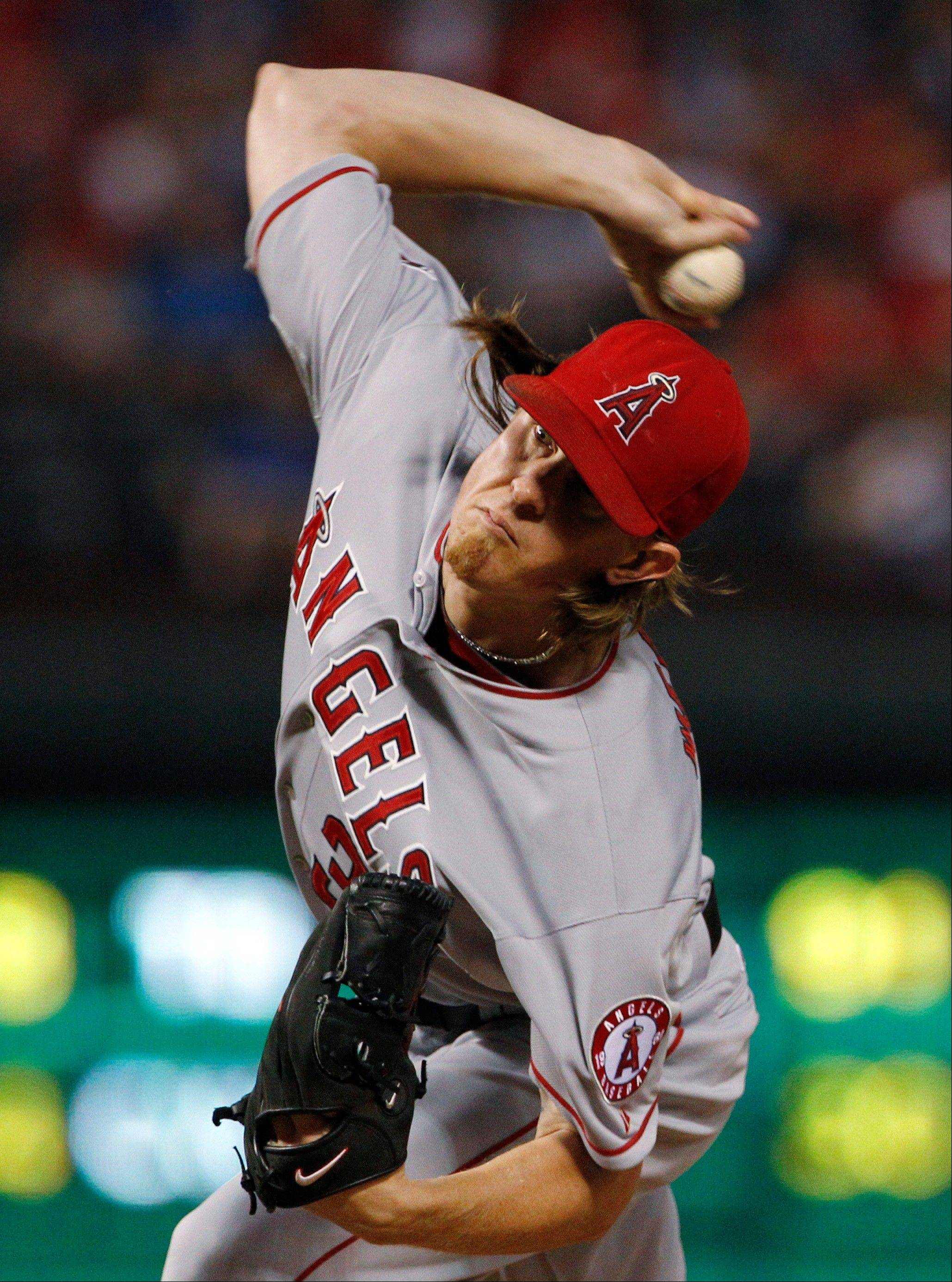 Starting pitcher Jered Weaver on Friday became the Angels' first 20-game winner since Bartolo Colon had 21 in 2005.