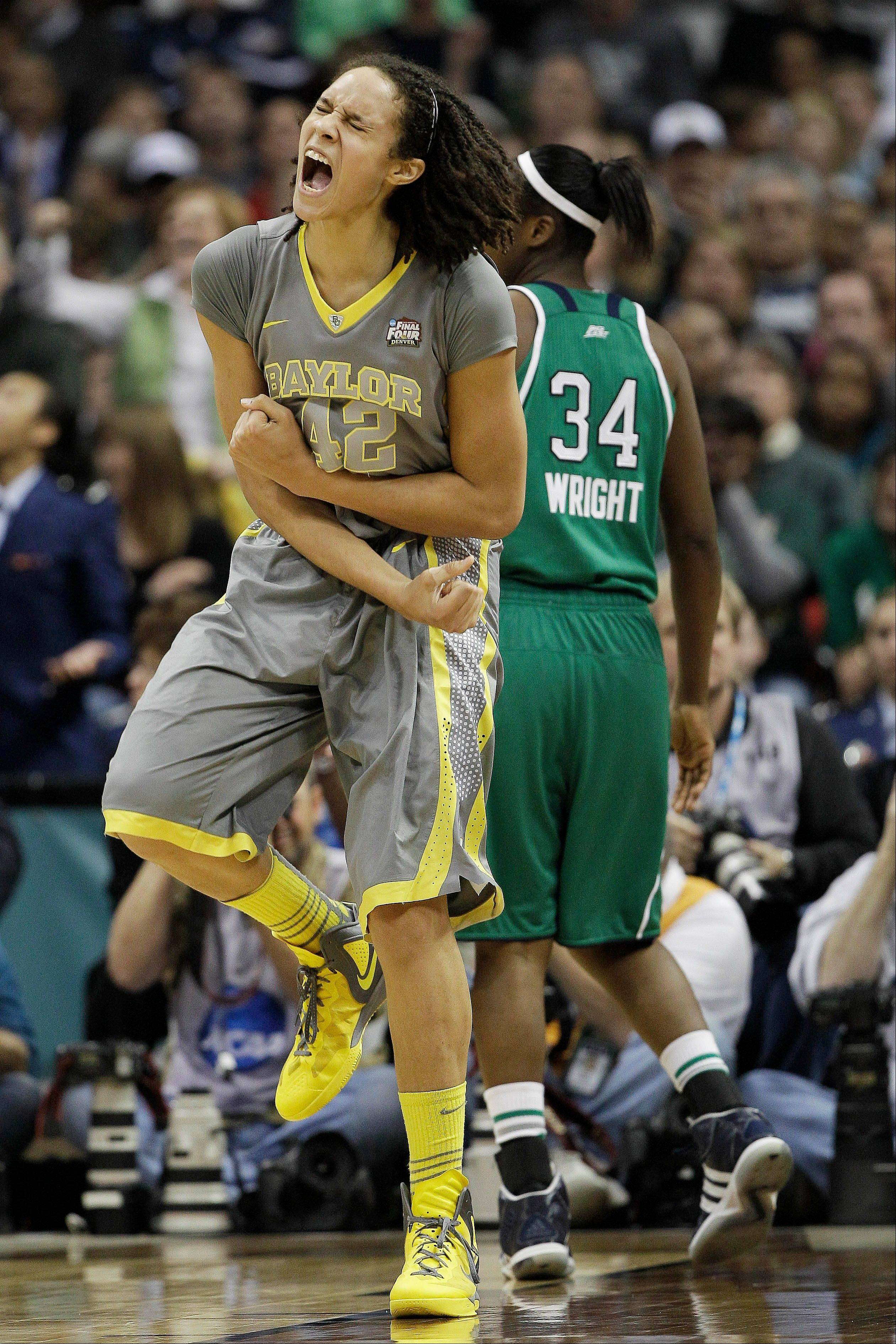 Baylor center Brittney Griner figures to be taken by the Phoenix Mercury with the top pick in the WNBA draft next year. But the Chicago Sky could move up if the Mercury decides to go in another direction.