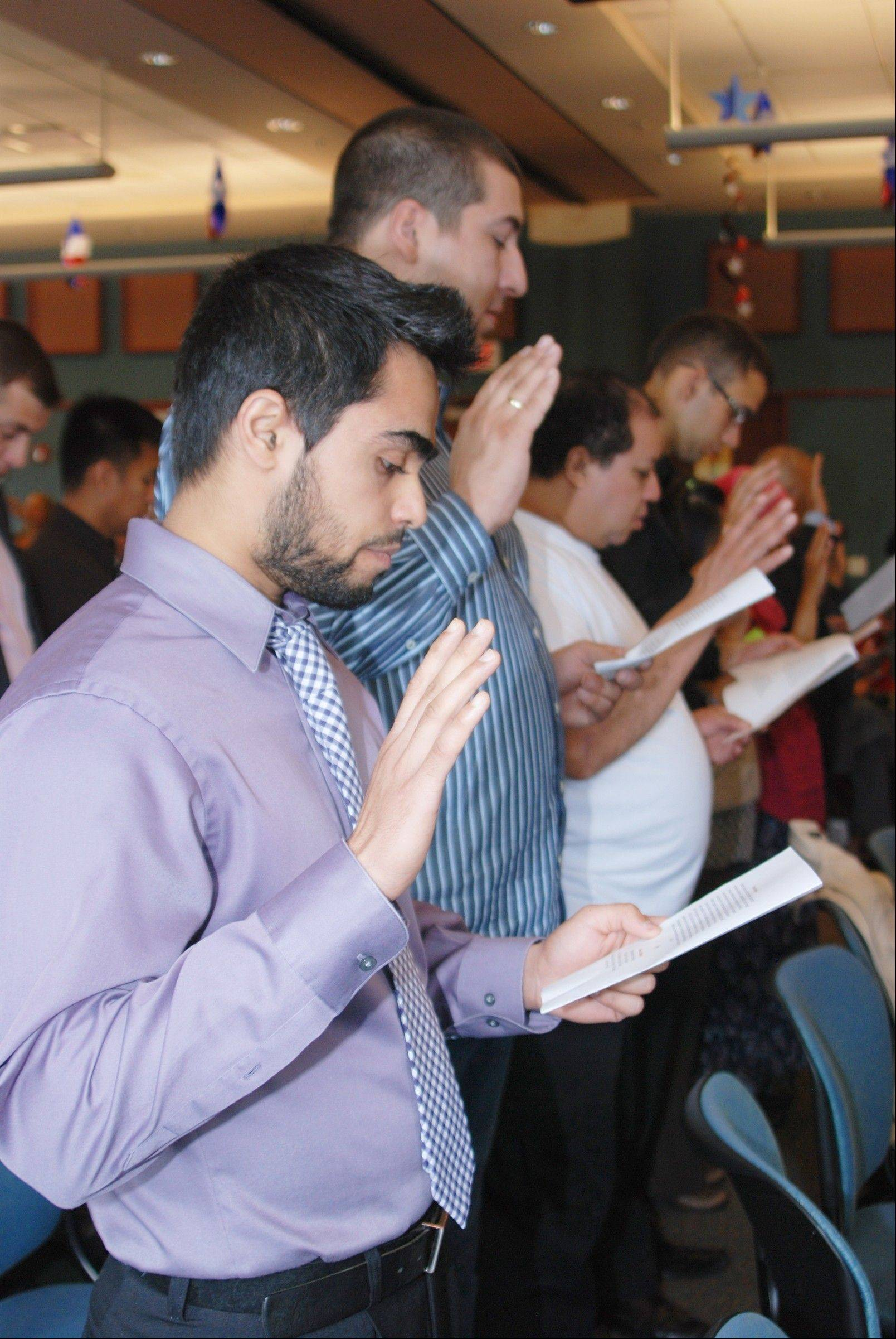 On Sept. 21, 82 immigrants became U.S. citizens.
