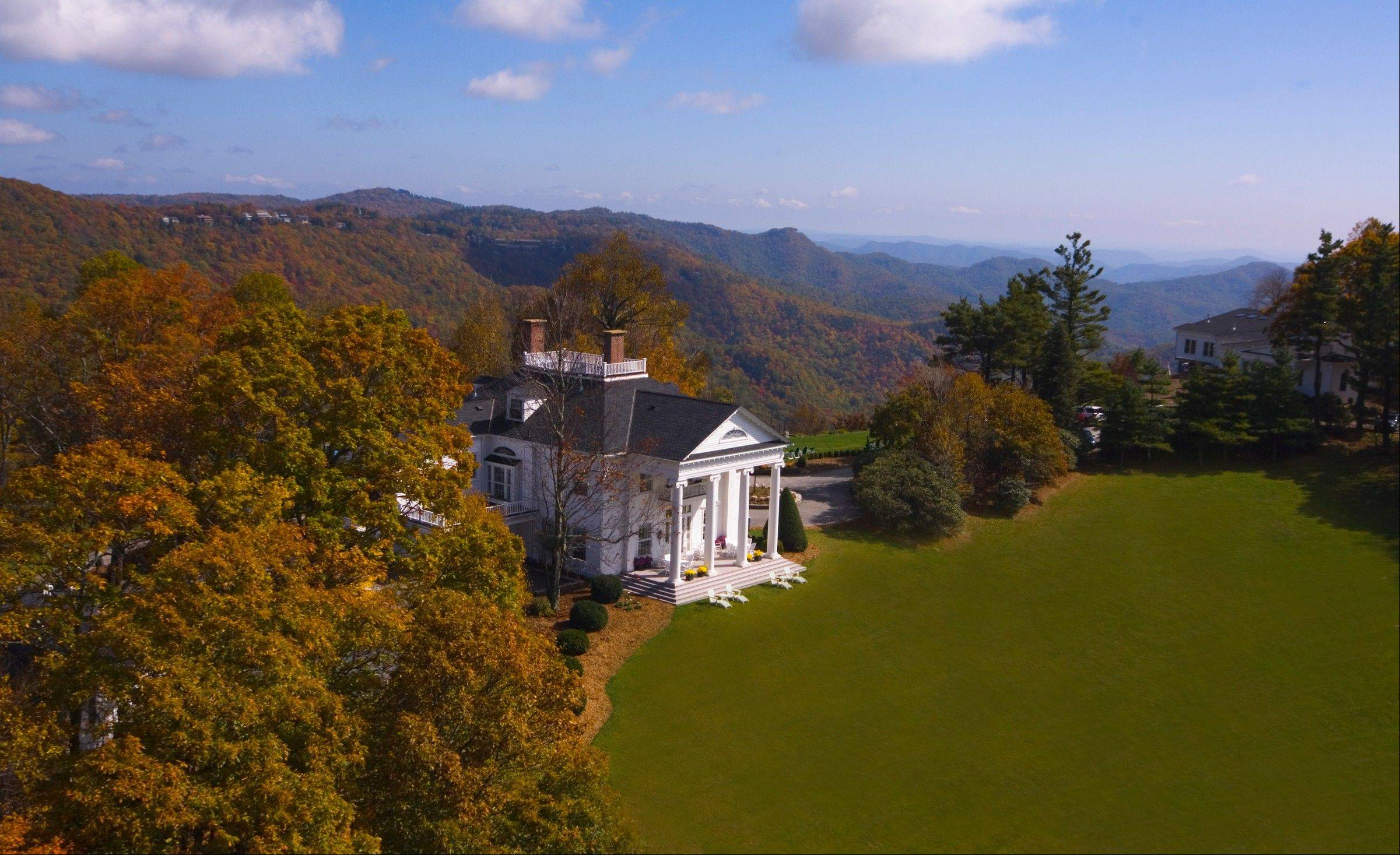 Westglow Resort & Spa, is situated in a historic Greek Revival mansion, built in 1916.