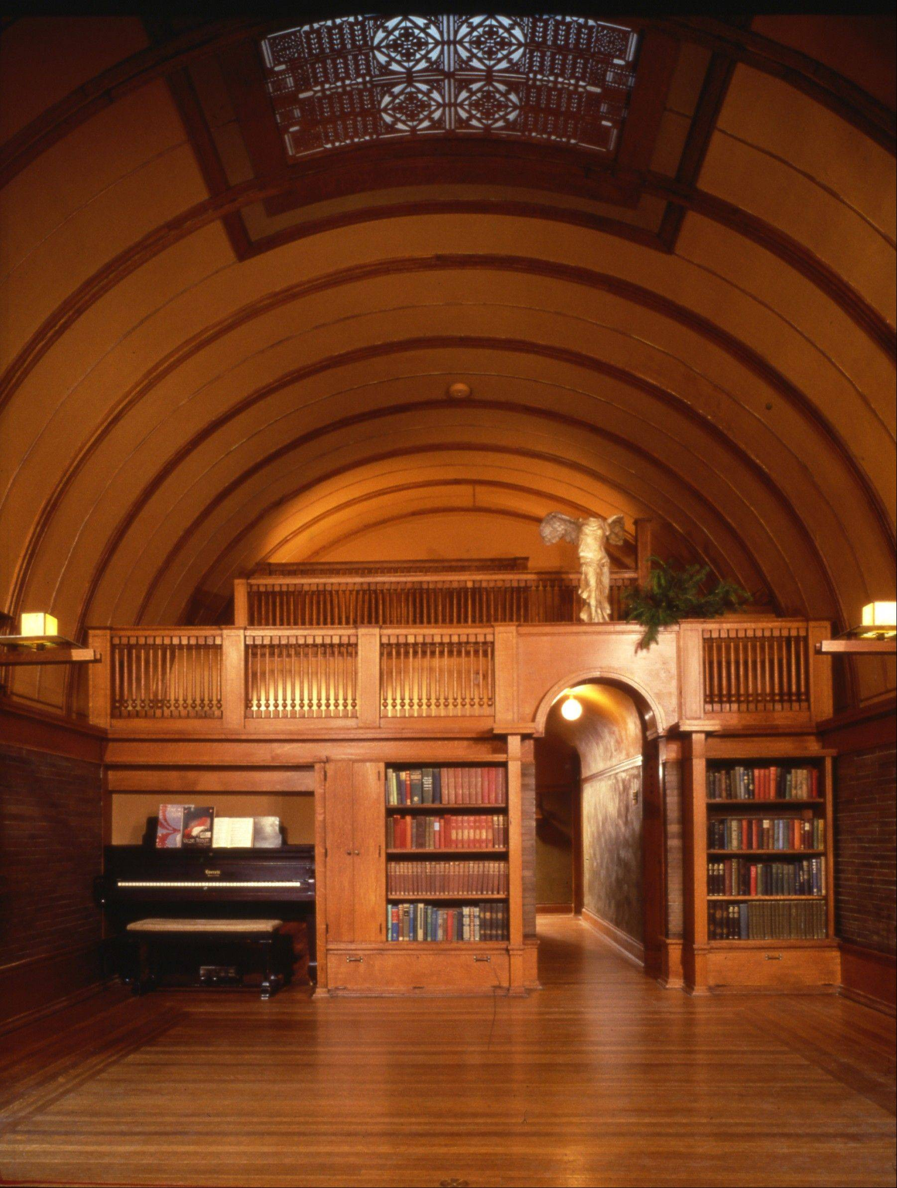 The playroom at the famous architect's home and studio in Oak Park draws some 80,000 visitors a year. Oak Park is home to 29 Wright-designed structures, the largest collection of Wright sites in any one place in the world.