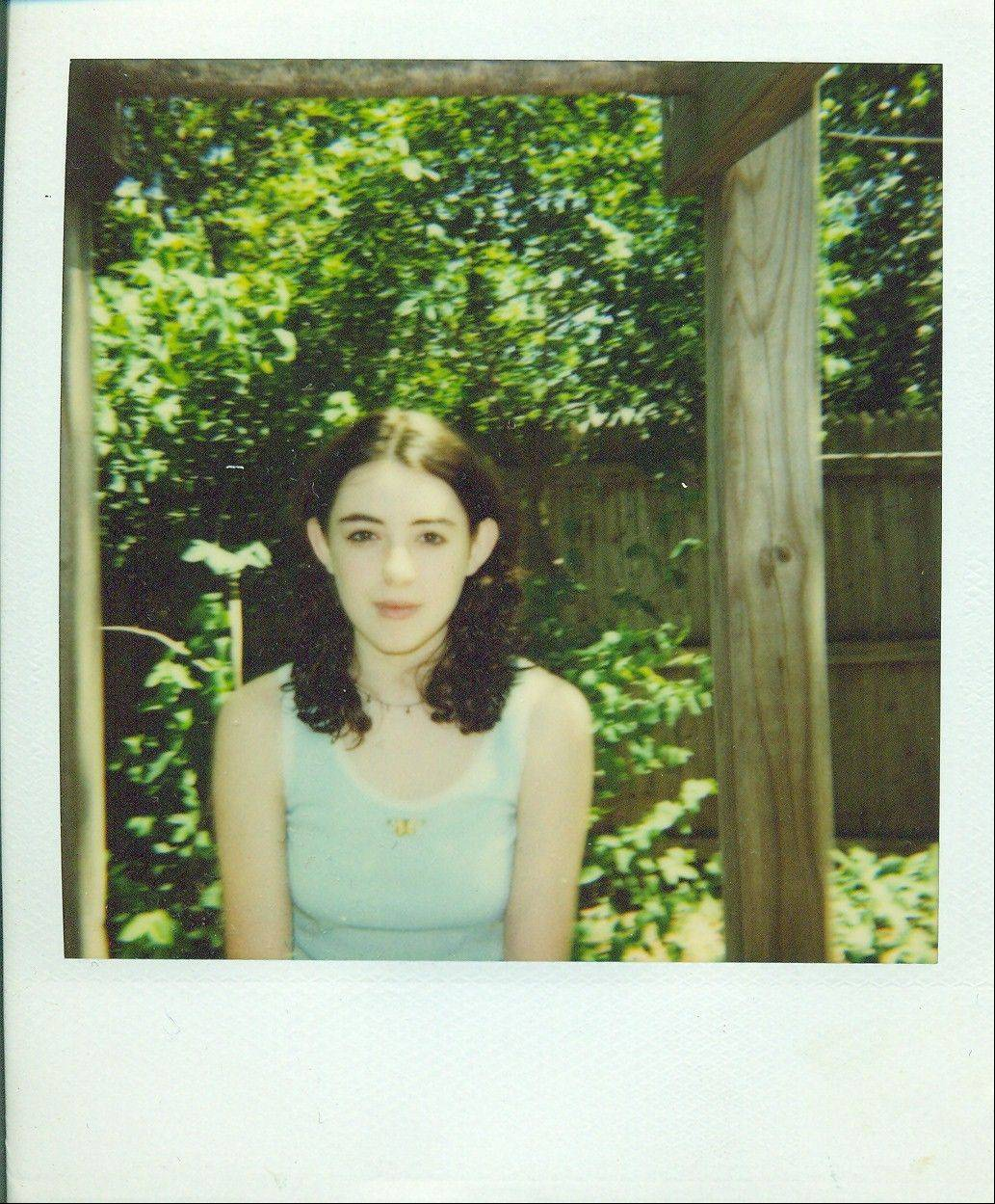 Shown here as a brooding 13-year-old in her family's backyard in Lombard, Leigh Stein would drop out of high school and two colleges before finding success as a novelist and poet.