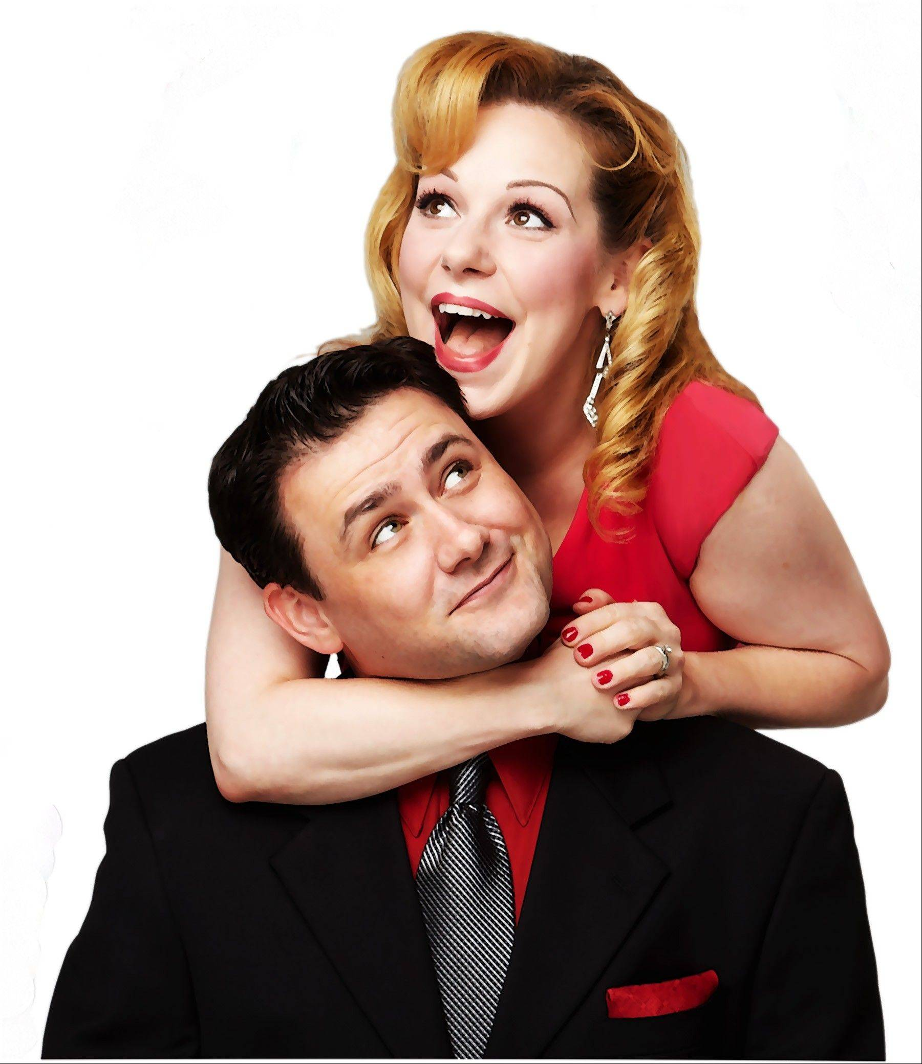 "Married musical theater veterans Michael Ingersoll (""Jersey Boys"" and the vocal group Under The Streetlamp) and Angela Ingersoll (Drury Lane's ""The 39 Steps"") bring their show ""My Baby Just Cares For Me"" to Northlight Theatre Monday, Oct. 1 and Tuesday, Oct. 2."