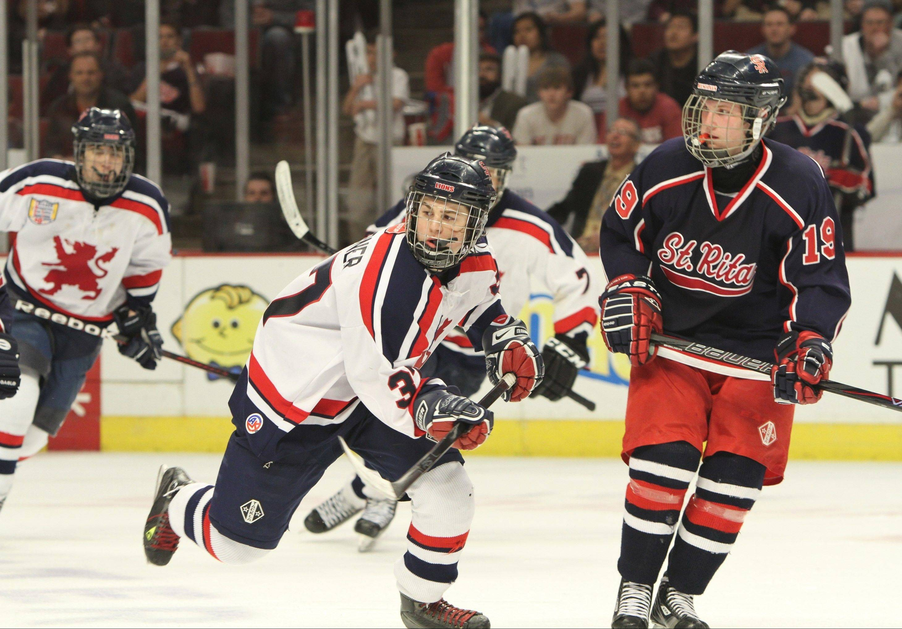 St. Rita and St. Viator played for the state championship in March at the United Center. The landscape in Illinois high school hockey has changed decisively since then.
