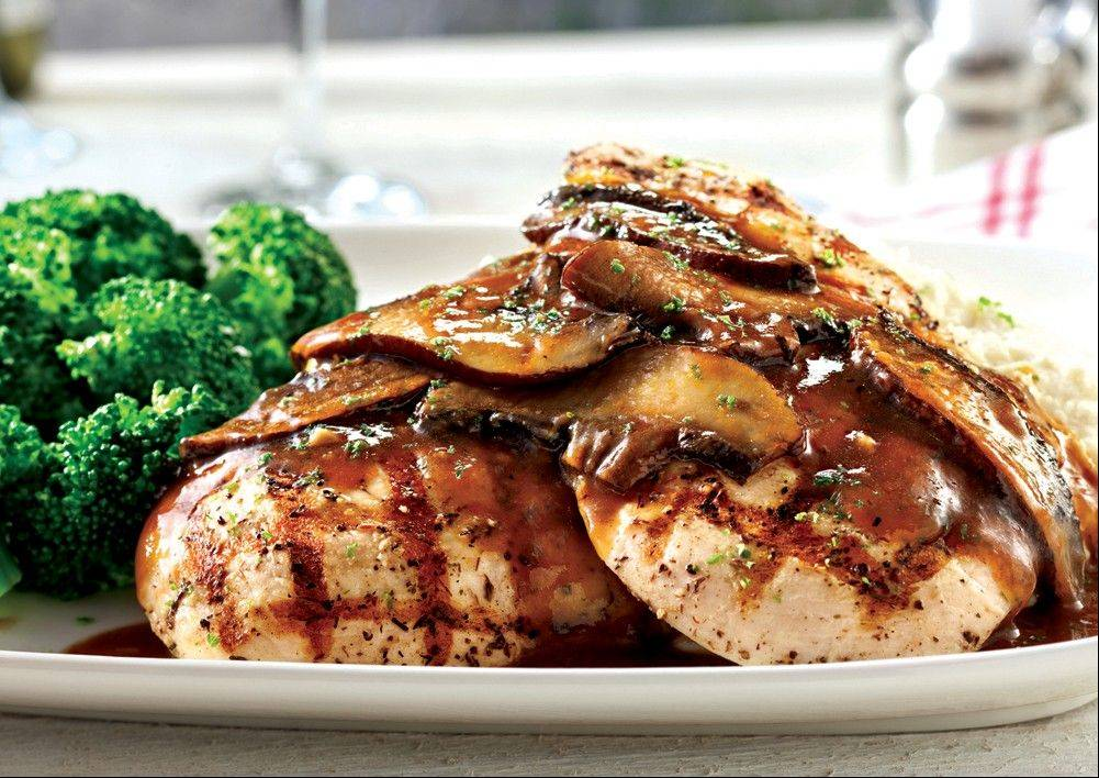 Red Lobster's Chicken with Portobello dish is among the new menu items that debut this month. The chain that brought seafood to the masses is hoping to broaden its appeal by revamping its menu on Oct. 15 to boost the number of dishes that cater to diners who don't want seafood, including lighter options such as salads. Red Lobster also is increasing the number of dishes that cost less than $15 to attract customers who have cut back on spending.