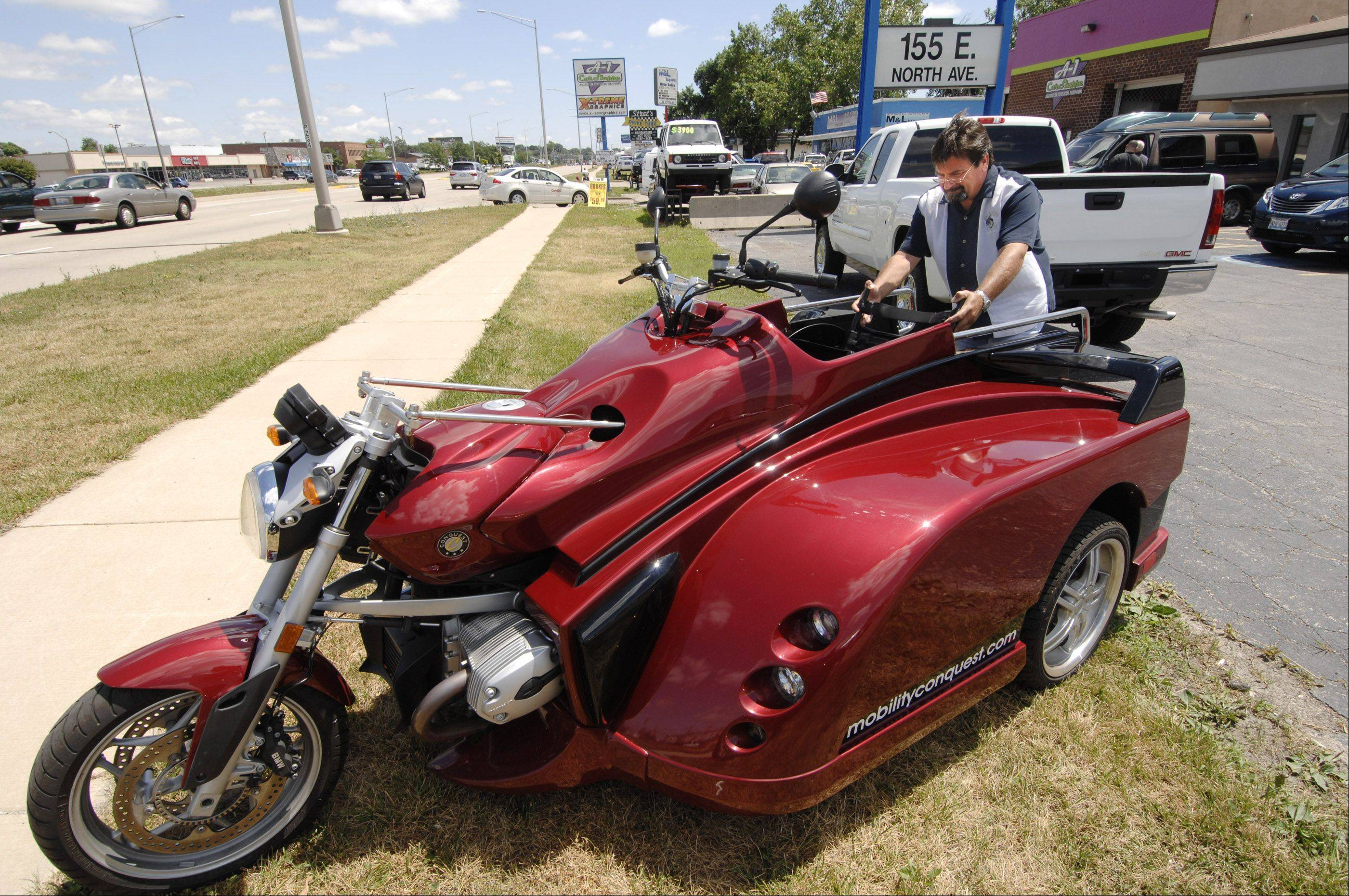 Visitors to Thursday's Mobility Expo and Conference in Villa Park will be able to collect information on a variety of resources to improve accessibility and even check out a motorcycle designed for people in wheelchairs.