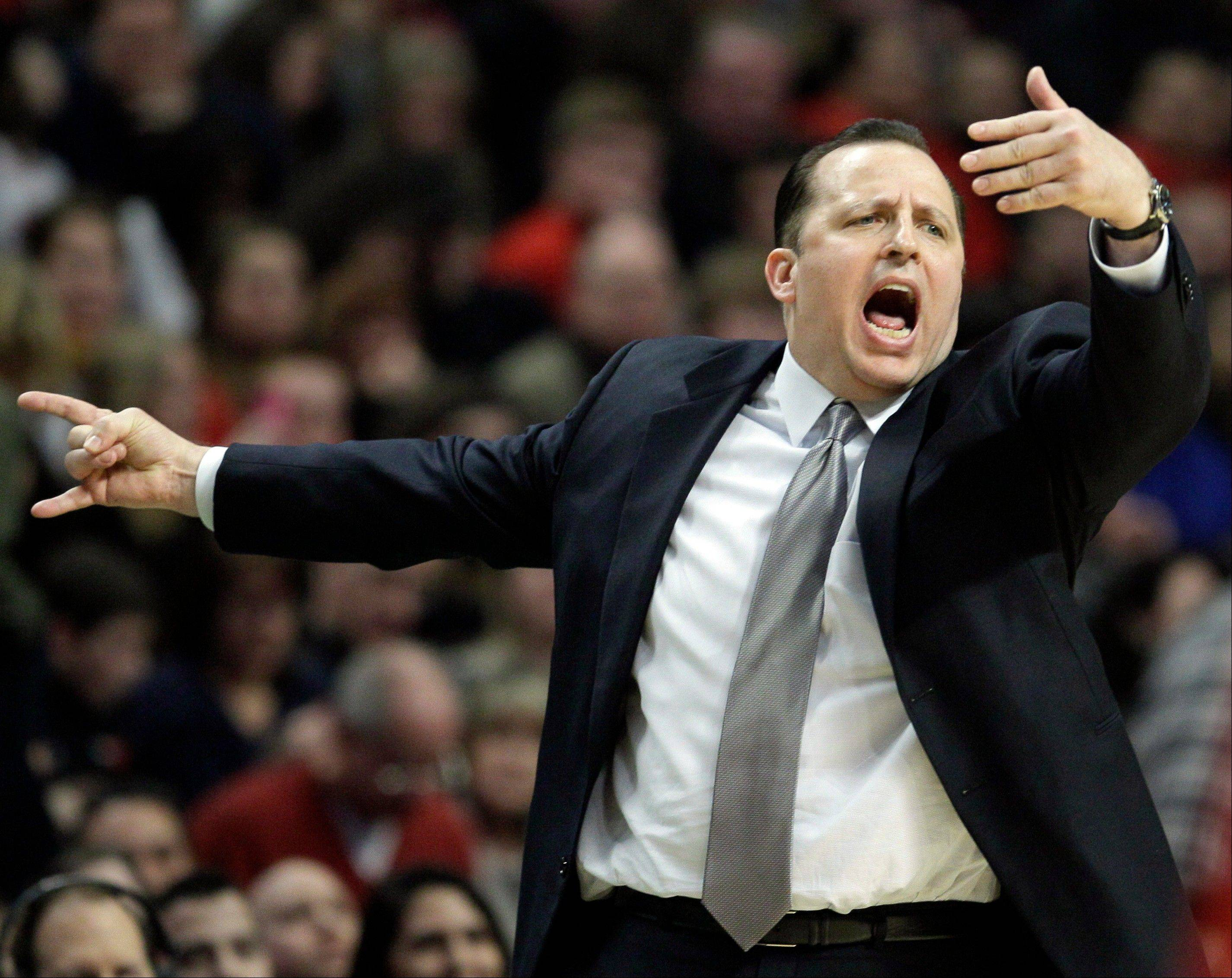 Chicago Bulls head coach Tom Thibodeau received a four-year contract extension Monday.
