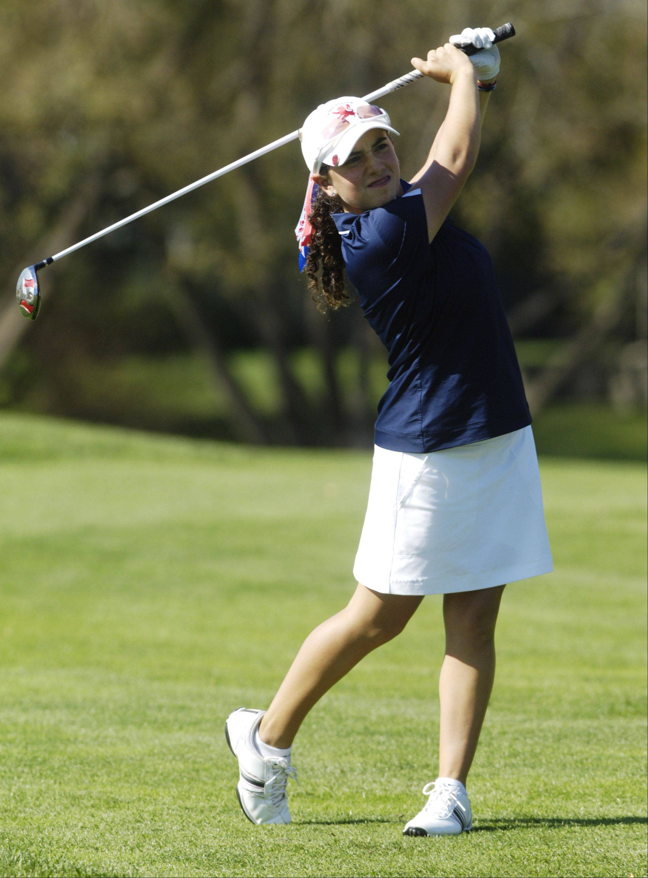 St. Viator�s Dana Gattone will be part of a star-studded regional field Wednesday at Bonnie Dundee Golf Course in Carpentersville.
