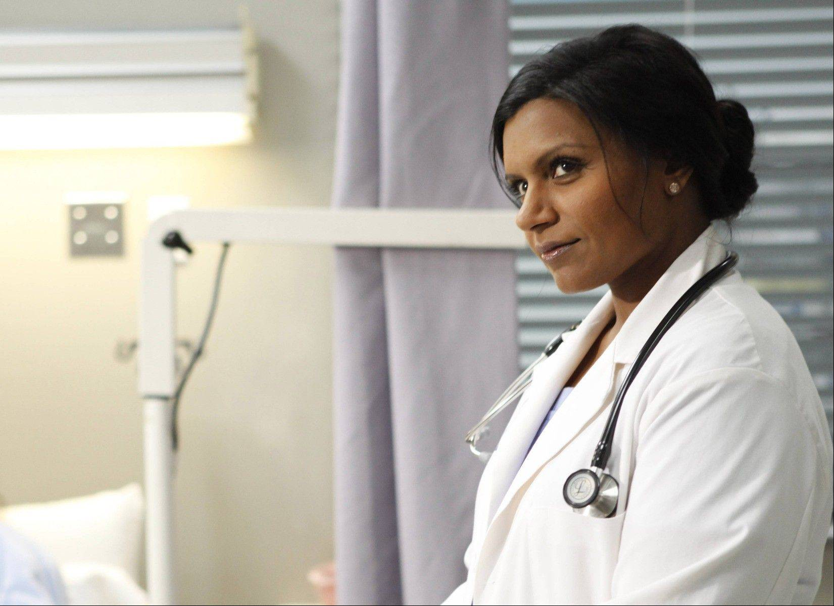 "A doctor (Mindy Kaling) juggles her professional and personal issues in the new Fox comedy ""The Mindy Project."""