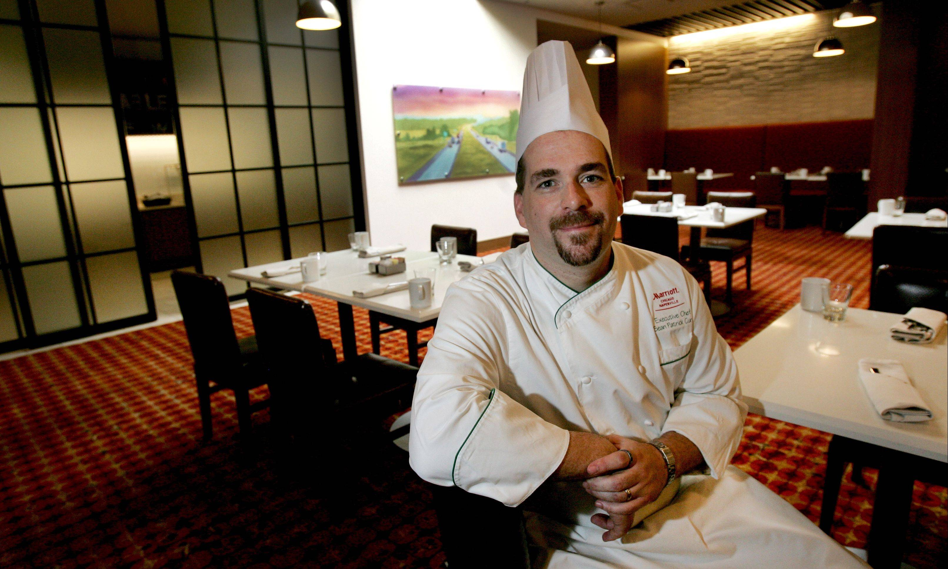 Chef Sean Patrick Curry has settled in at Artisan Table, the restaurant inside Naperville's new Marriott.