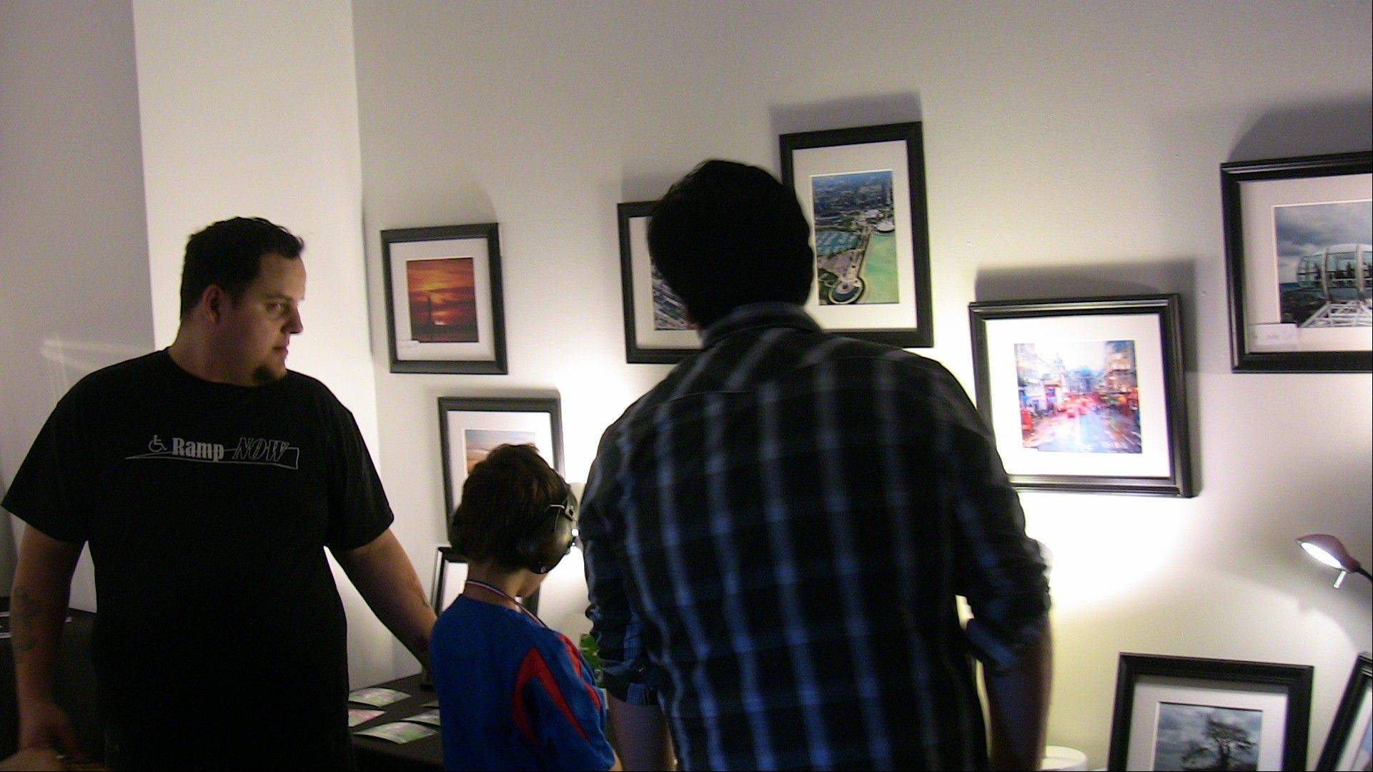 Photographs, paintings and other forms of art will shine at several locations along North Broadway Avenue in downtown Aurora during the eighth Aurora ArtWalk from 7 to 10 p.m. Friday, Oct. 5.