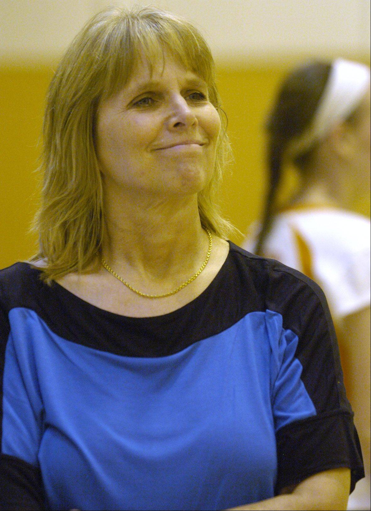 Hersey girls volleyball coach Nancy Lill is on the verge of joining a very exclusive club: 800 varsity coaching victories.