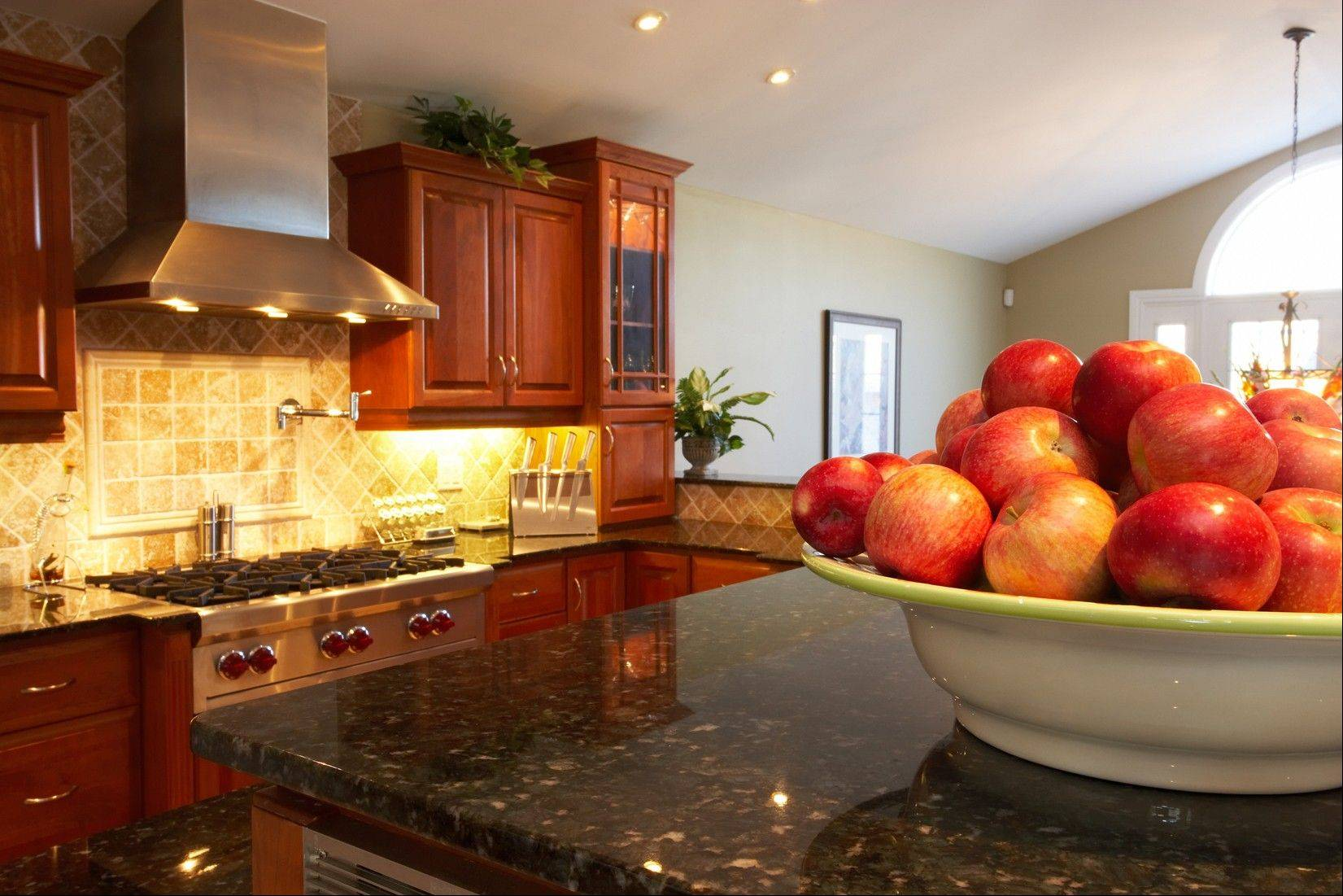 Many homeowners are updating their kitchen with granite counters.