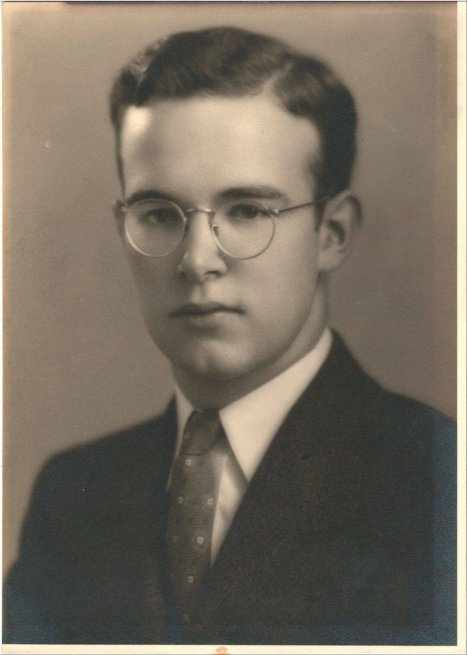 Allen Fox Mead, upon his graduation from the University of Wisconsin.